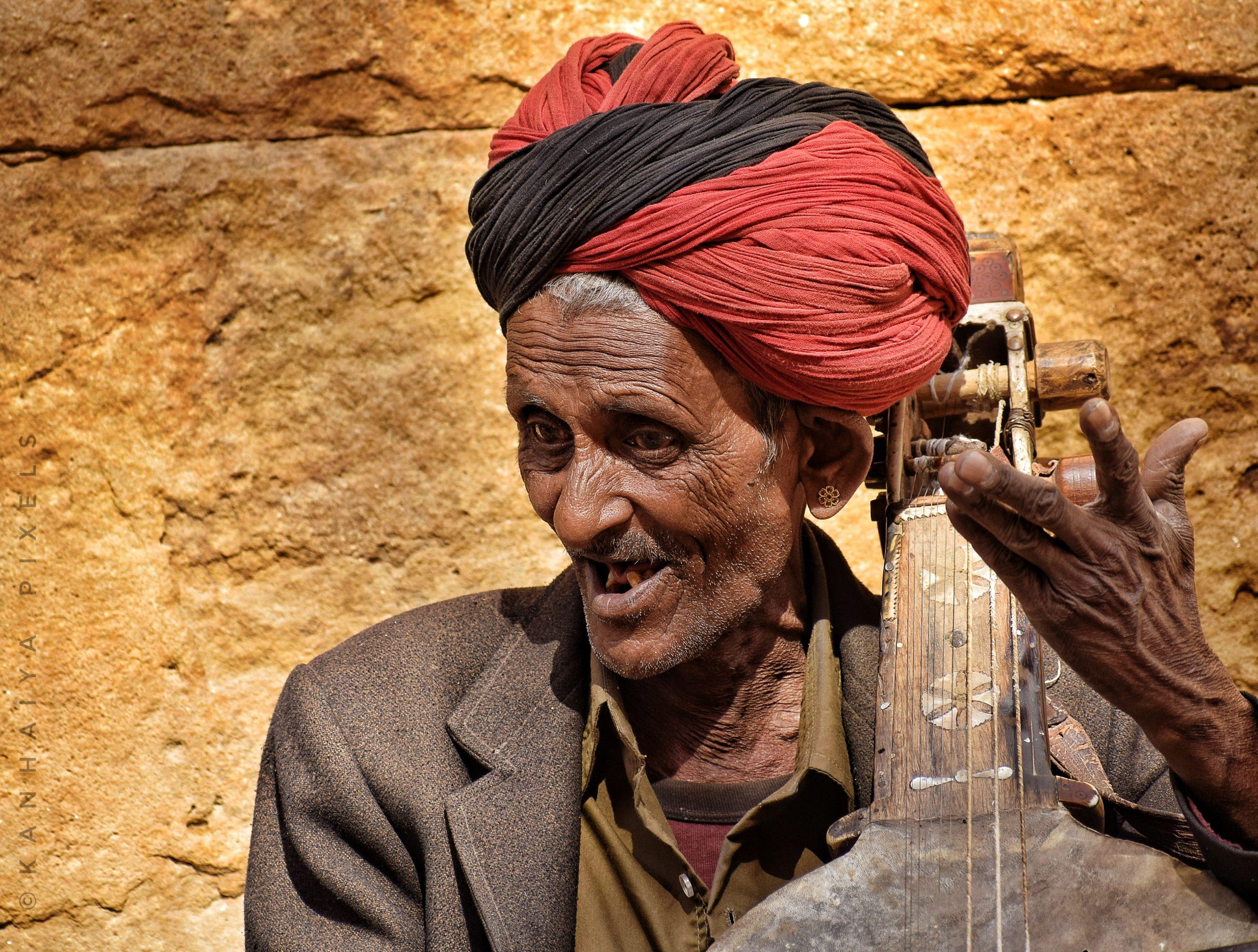 Rajasthani street musician