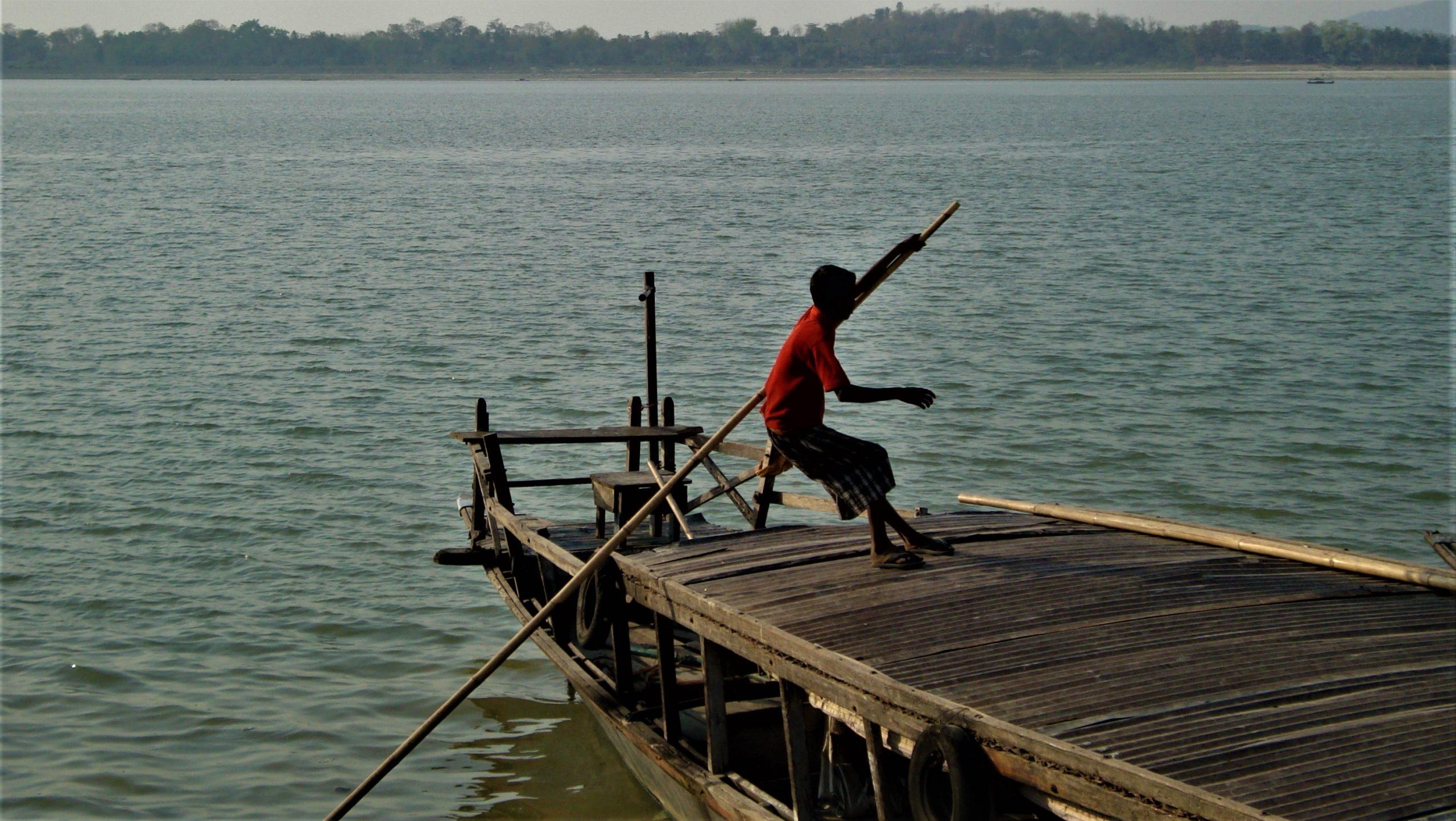 Ferry Ride at Brahmaputra River, Guwahati