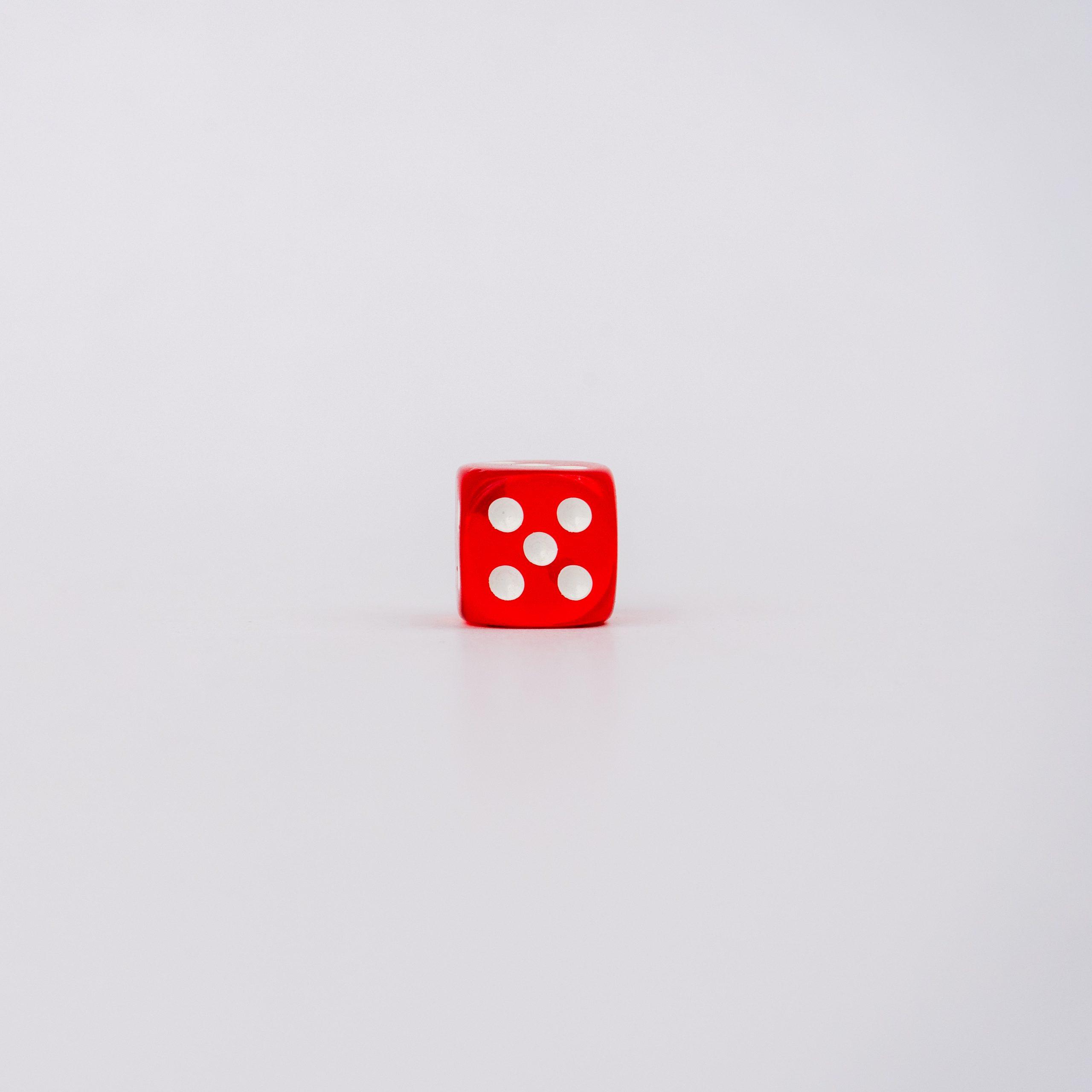 Five on dice