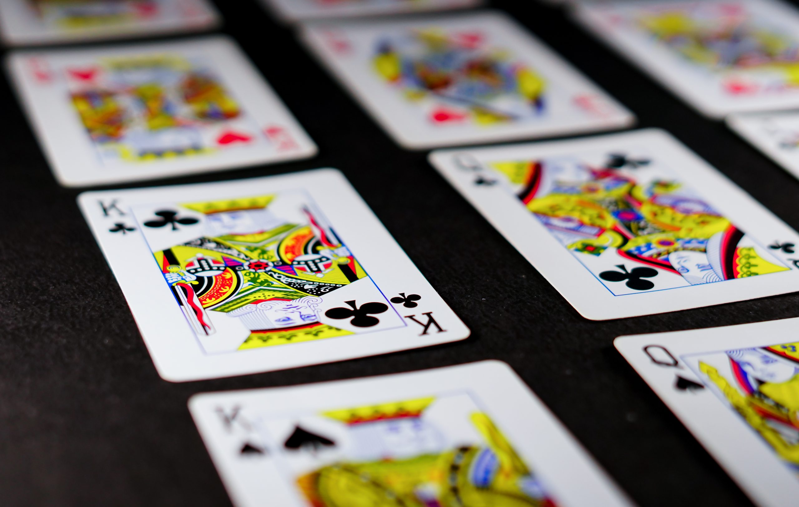 King in playng cards