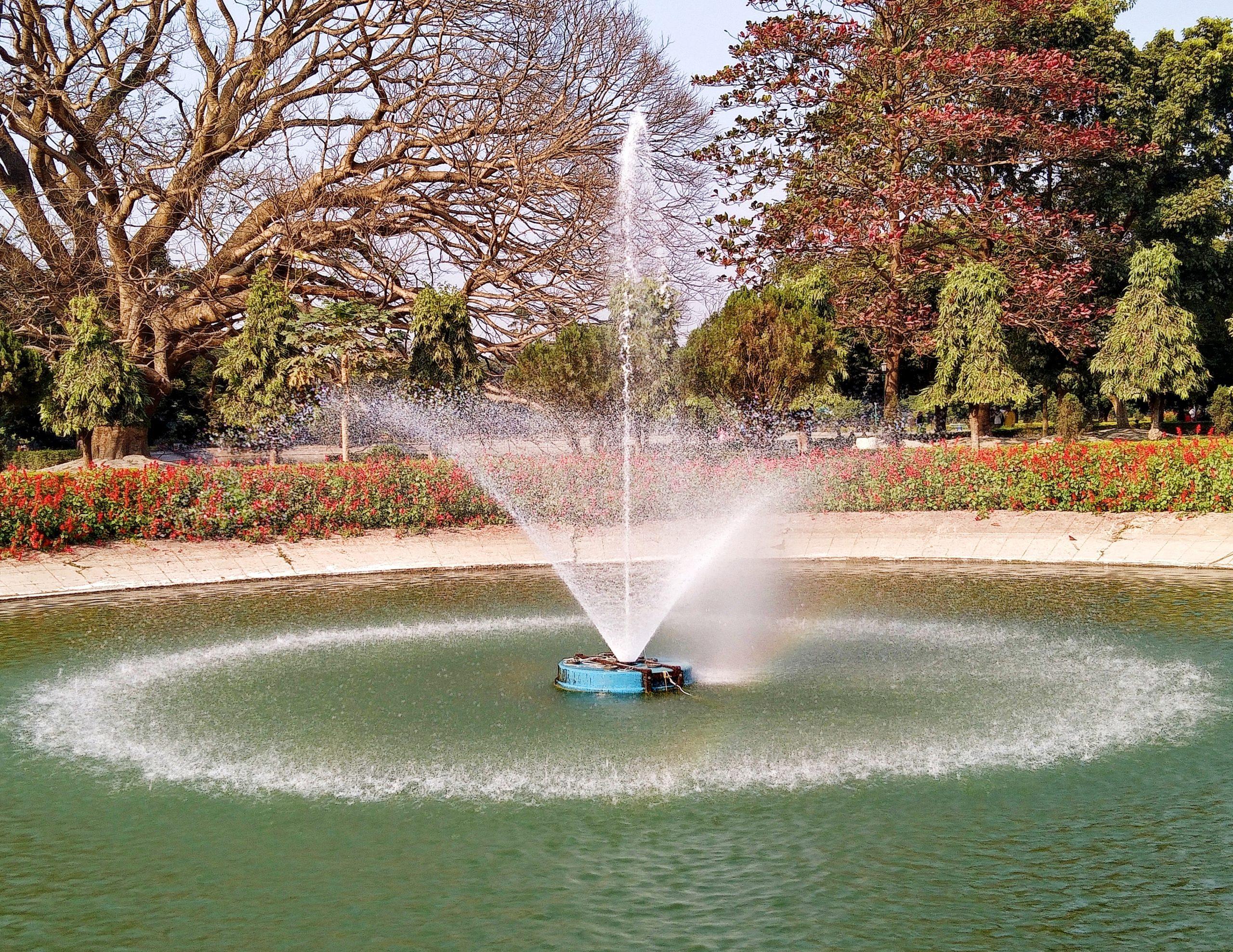 Fountain on the Park