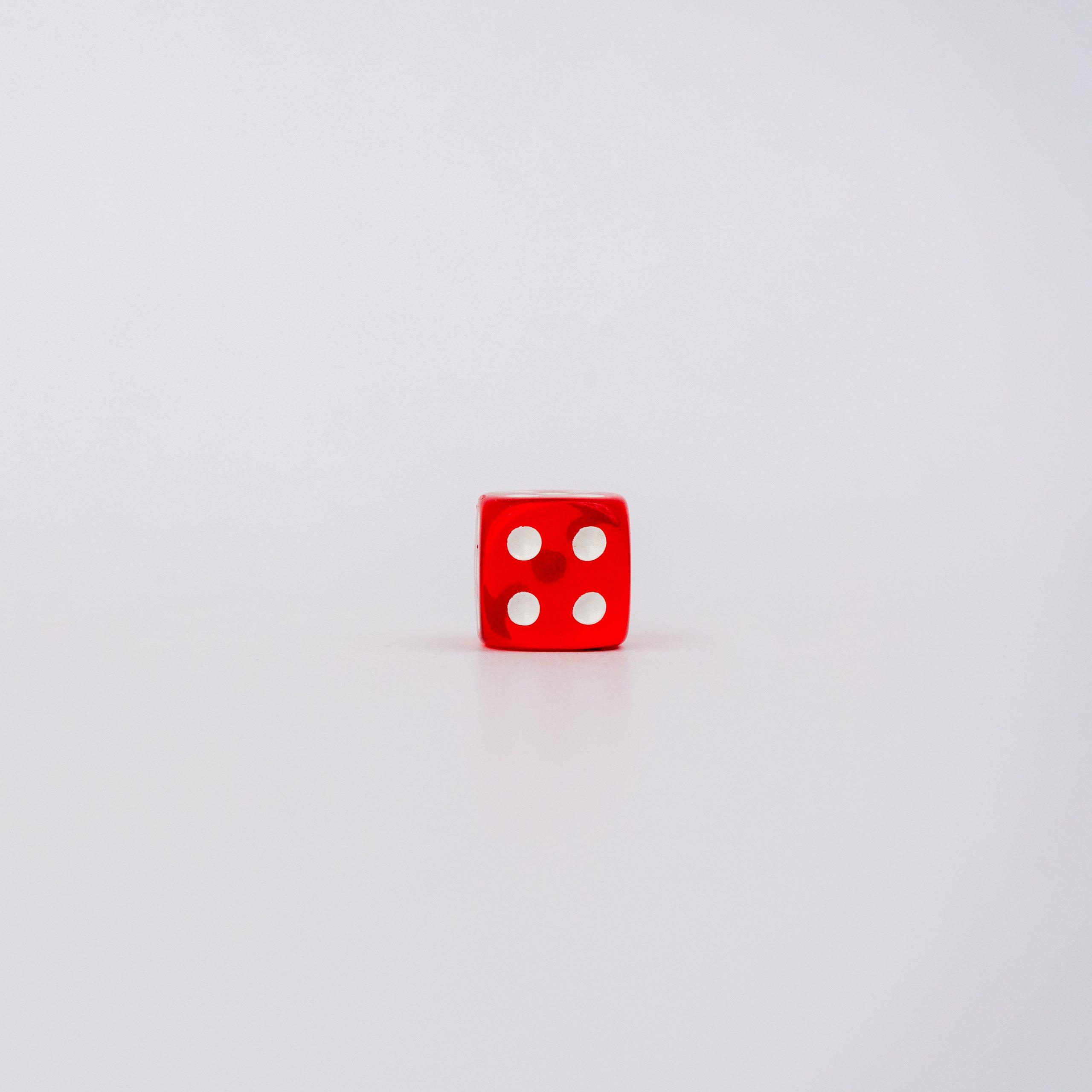 Four on dice