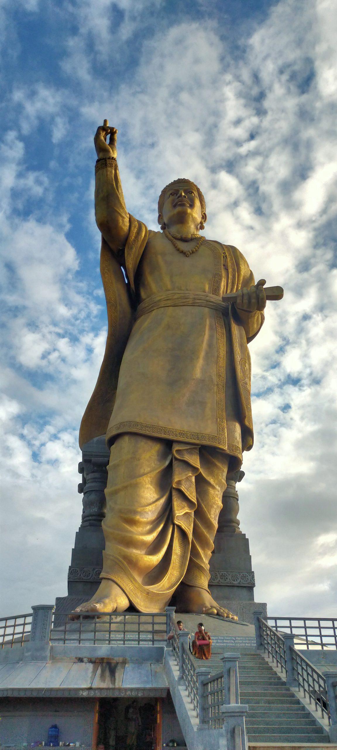 Gadag basavana statue, Karnataka, India.