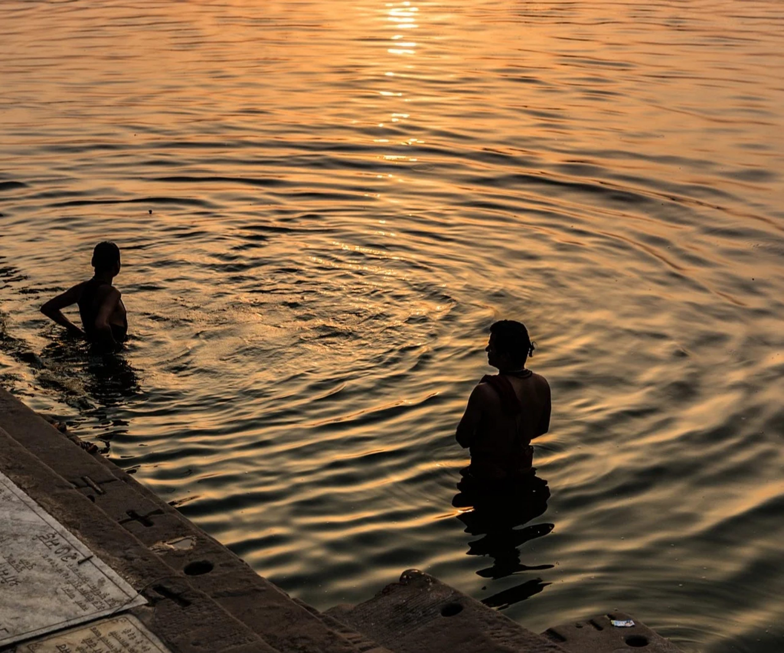 Ganga Ghat in Varanasi
