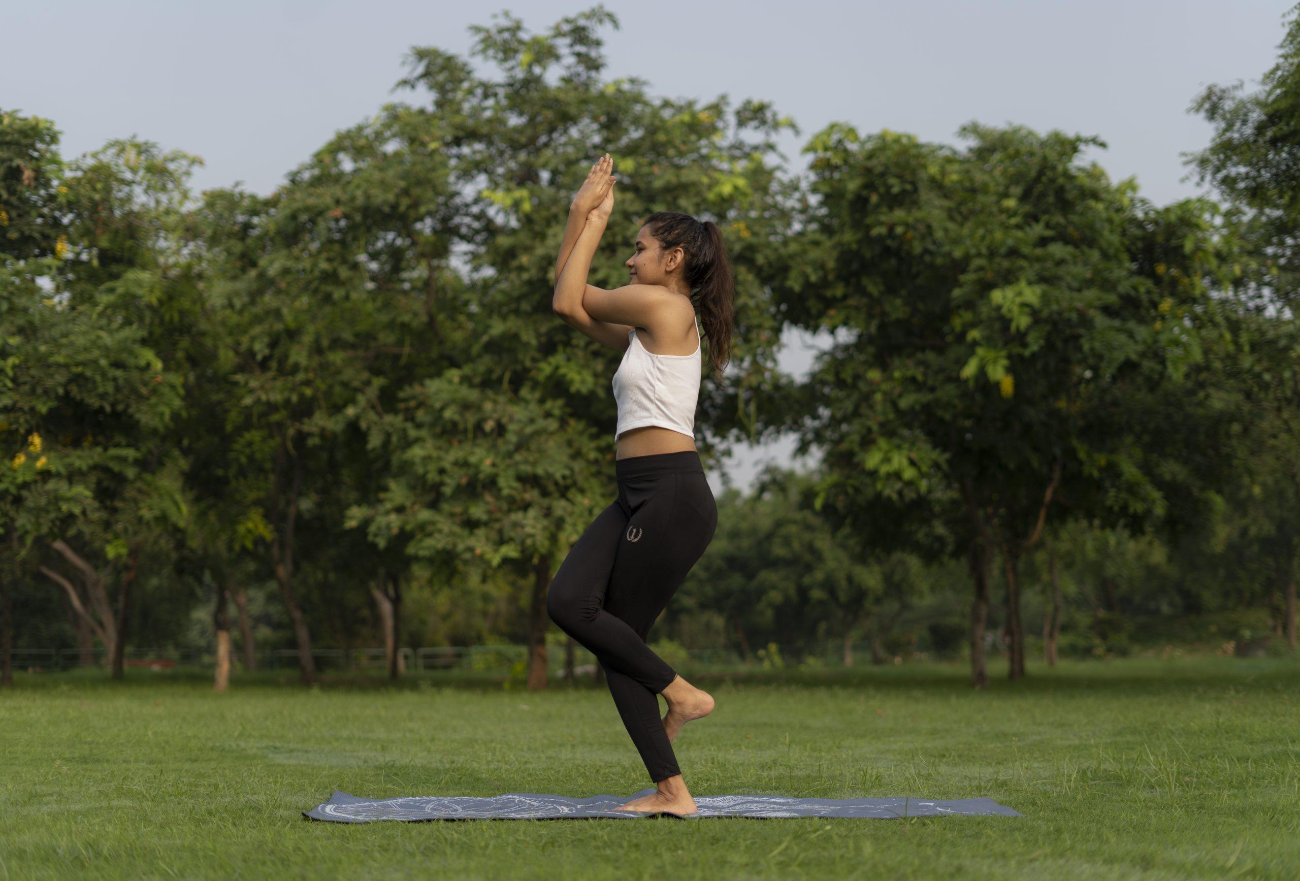 Garudasana Side Pose