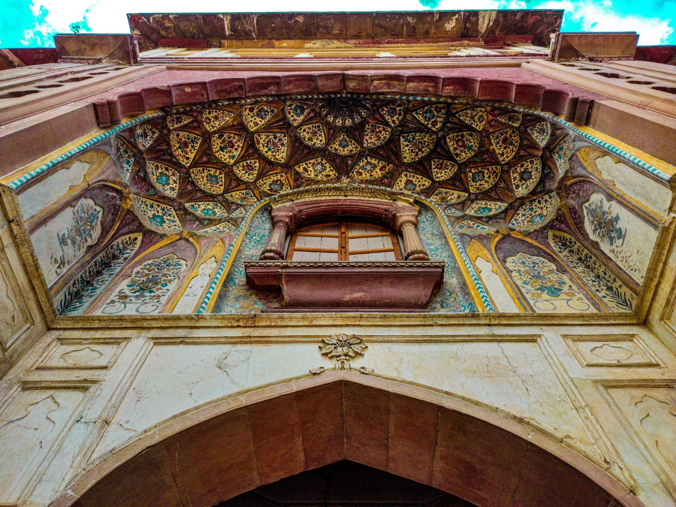 Gate of Safdarajang Tomb in Delhi