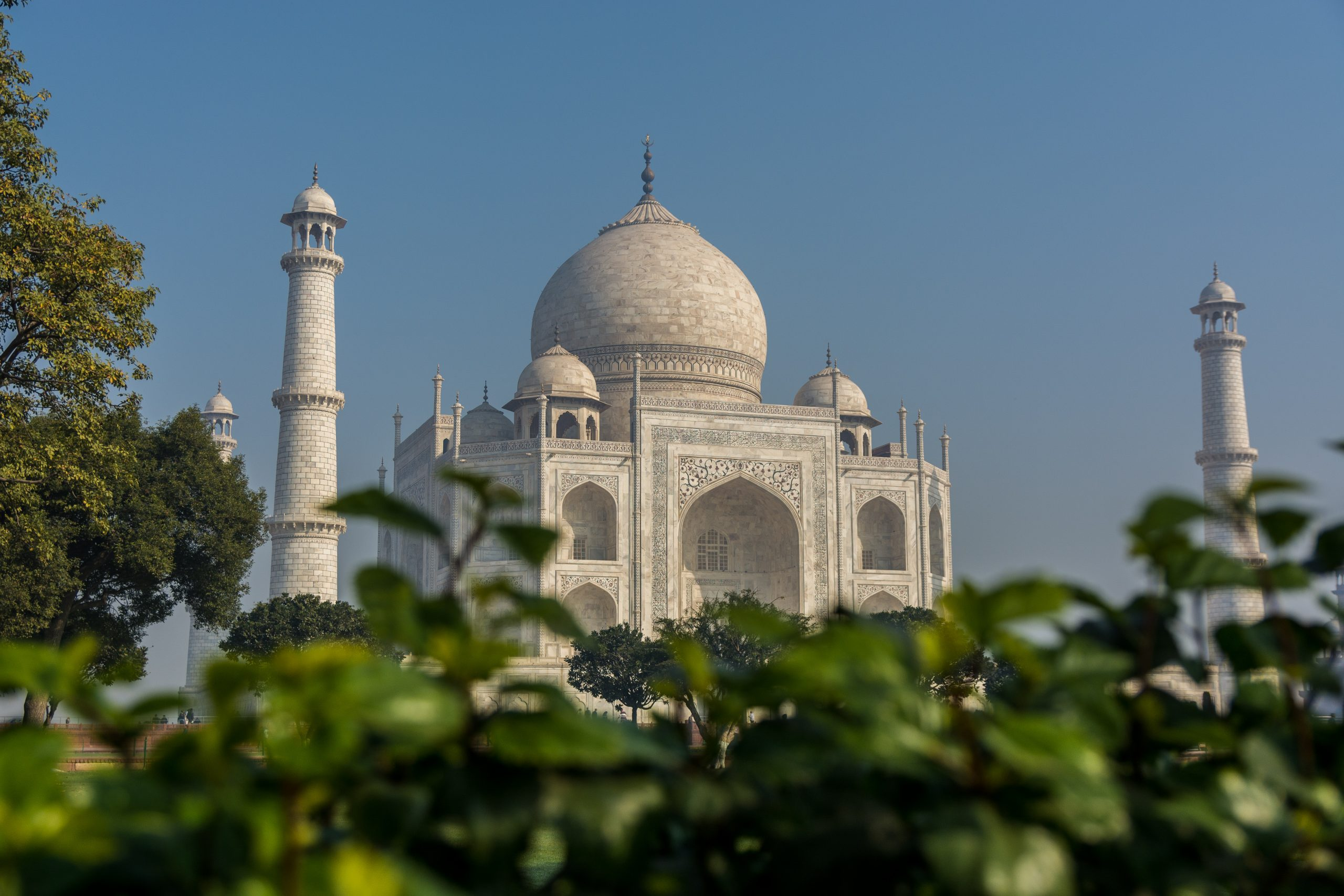 Glimpse of Taj Mahal