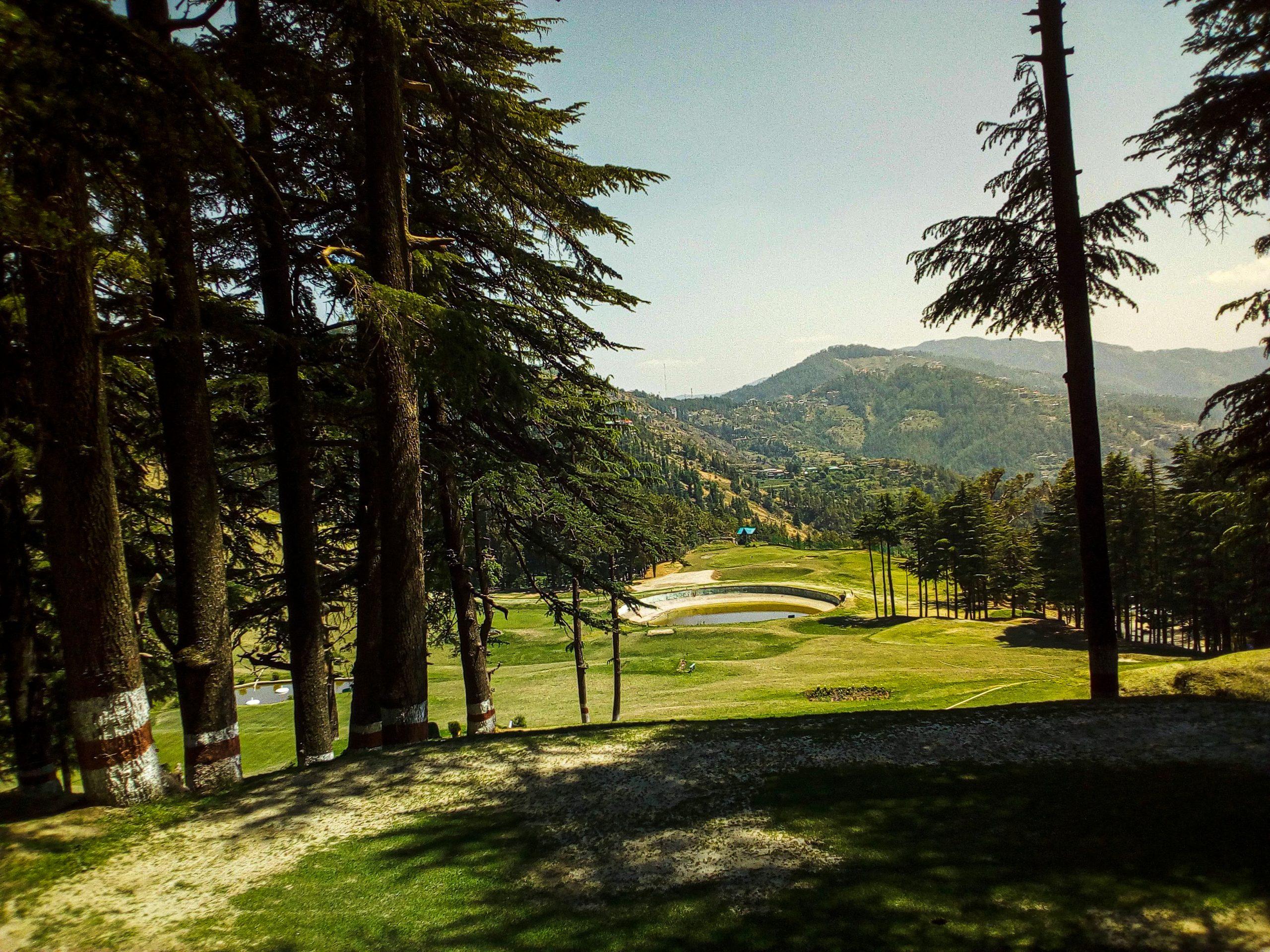 Golf club in Shimla
