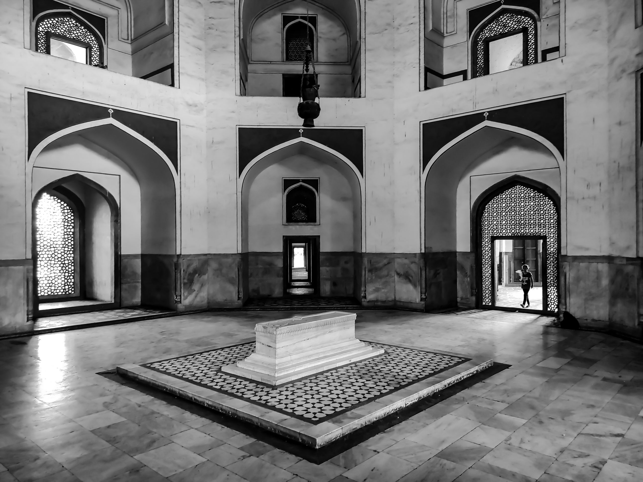 Grave in Humayun Tomb