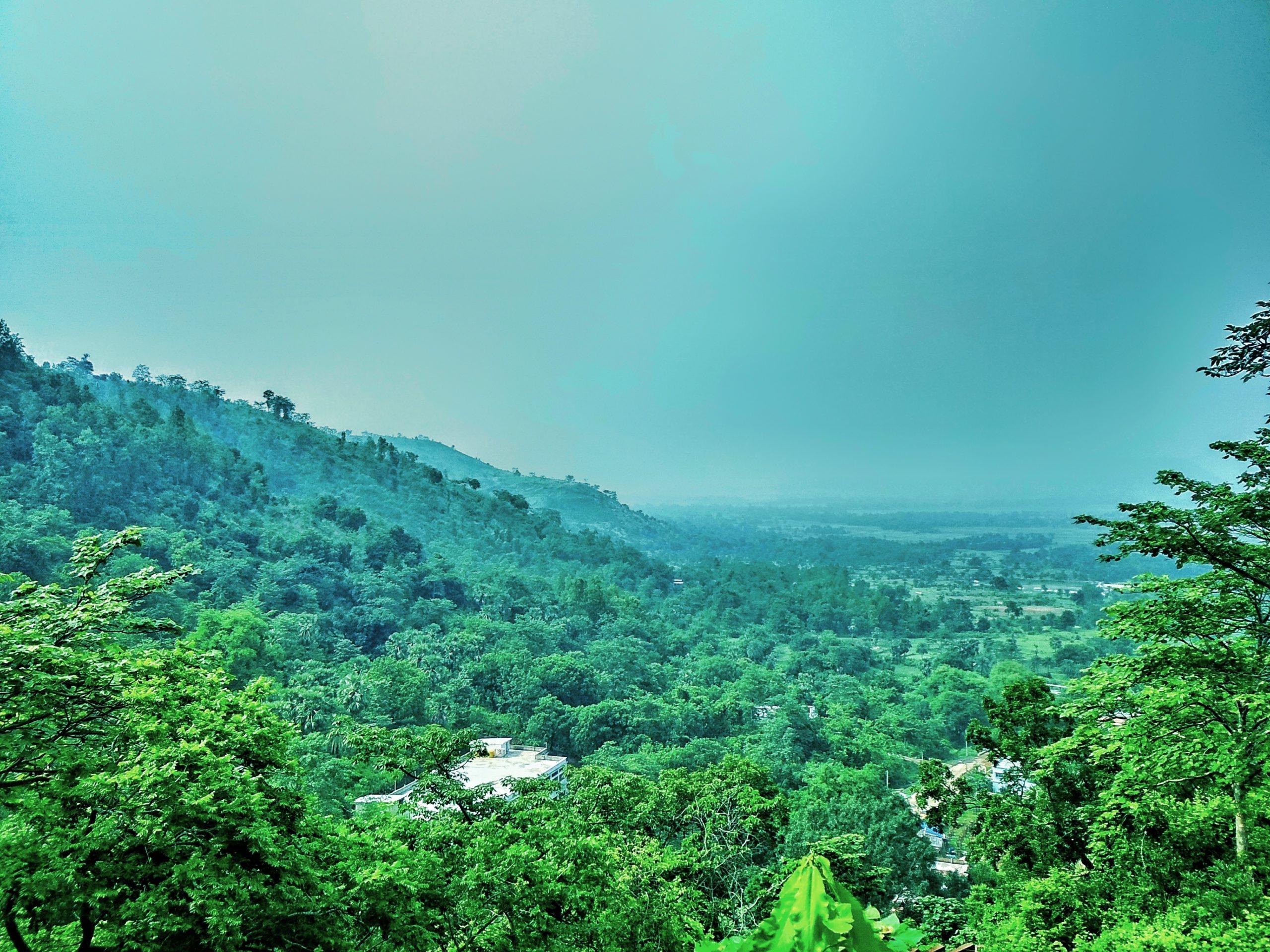 Mountain Sky View