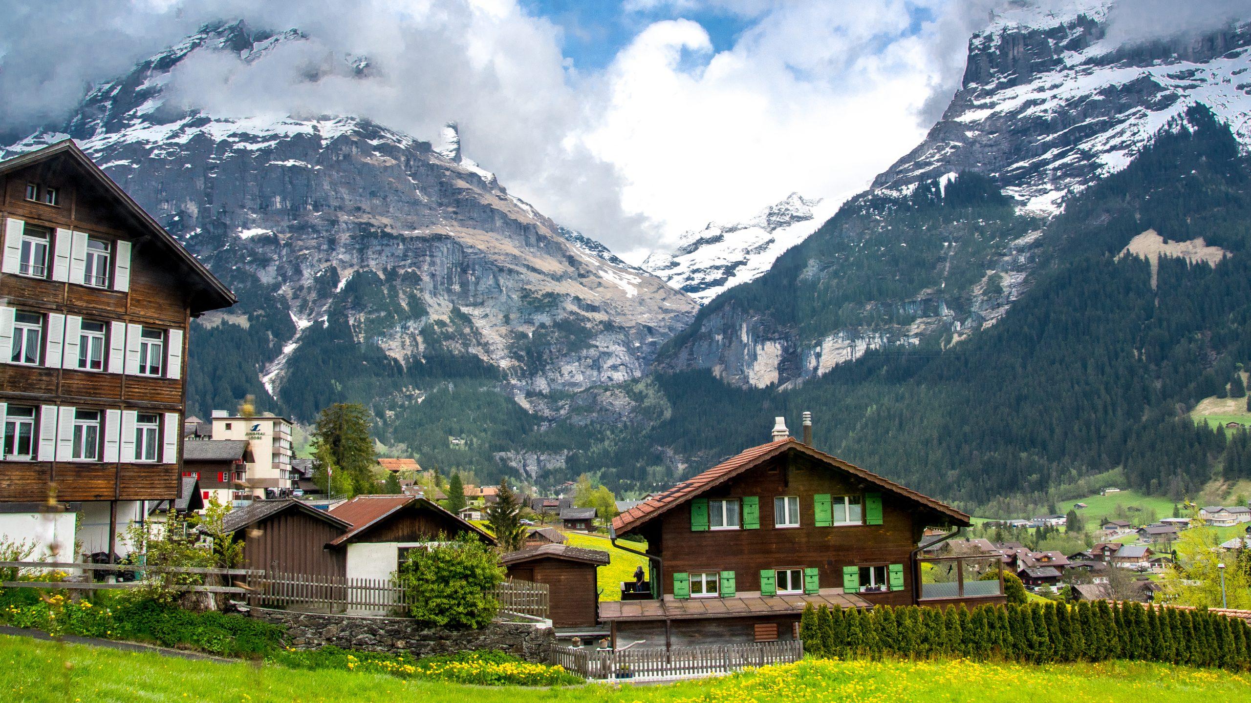 Grindelwald hill station