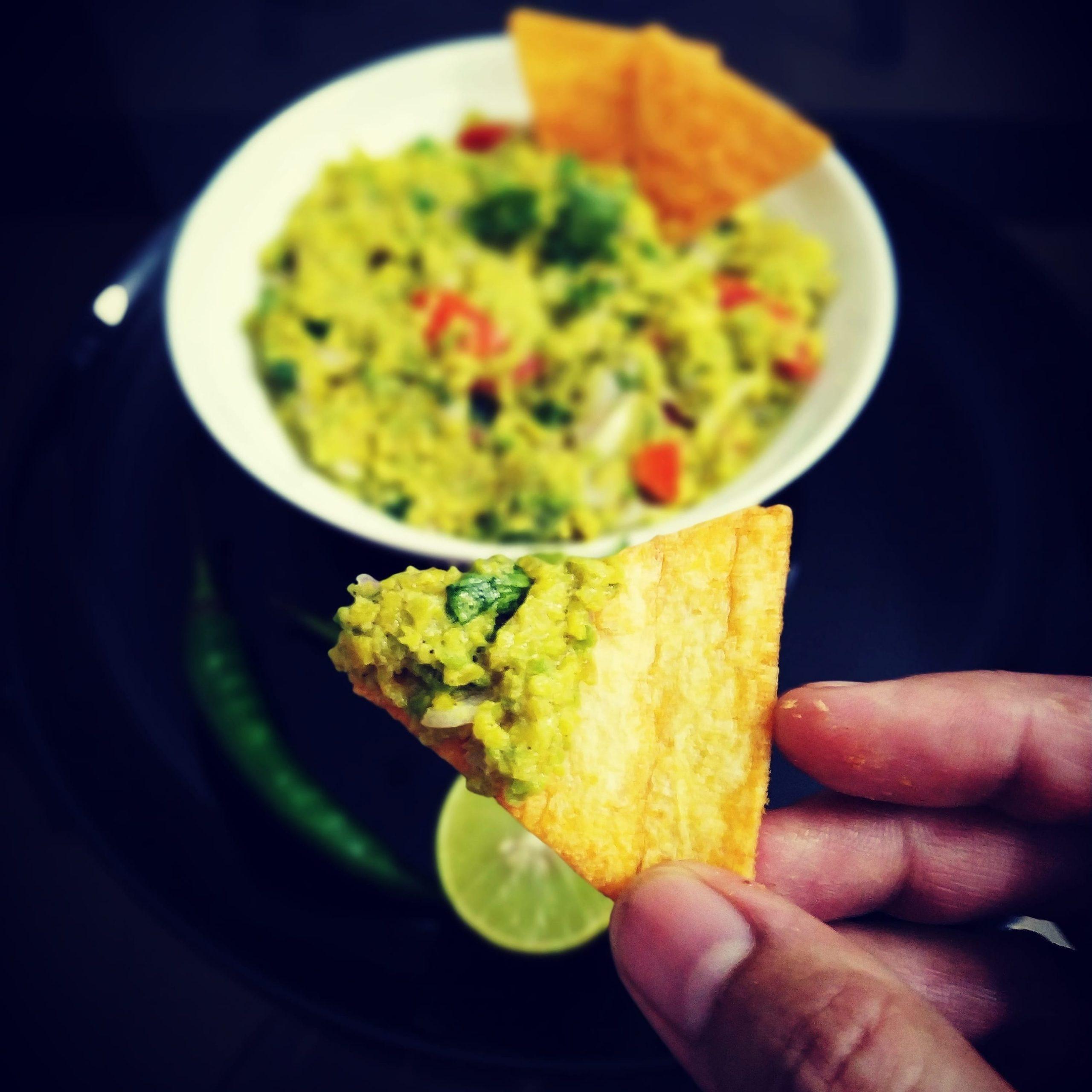 A Mexican dish made of Avocado