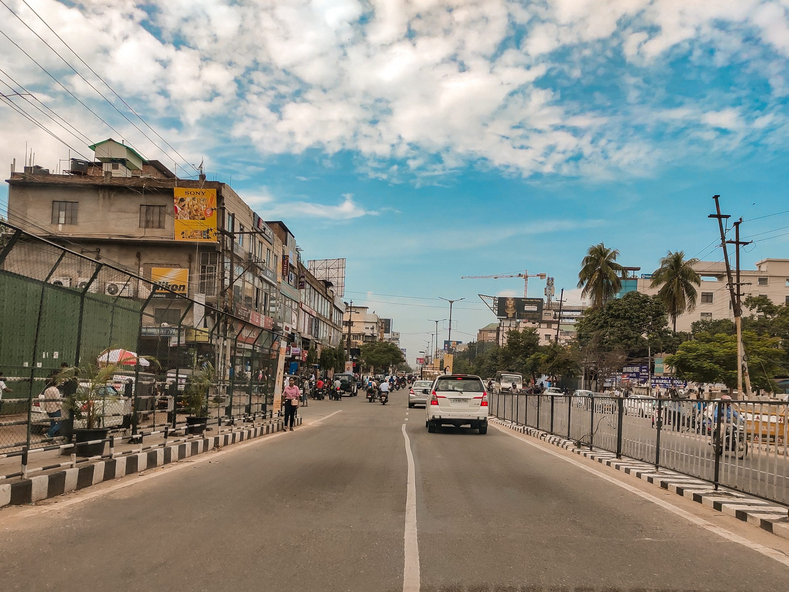 Guwahati street view