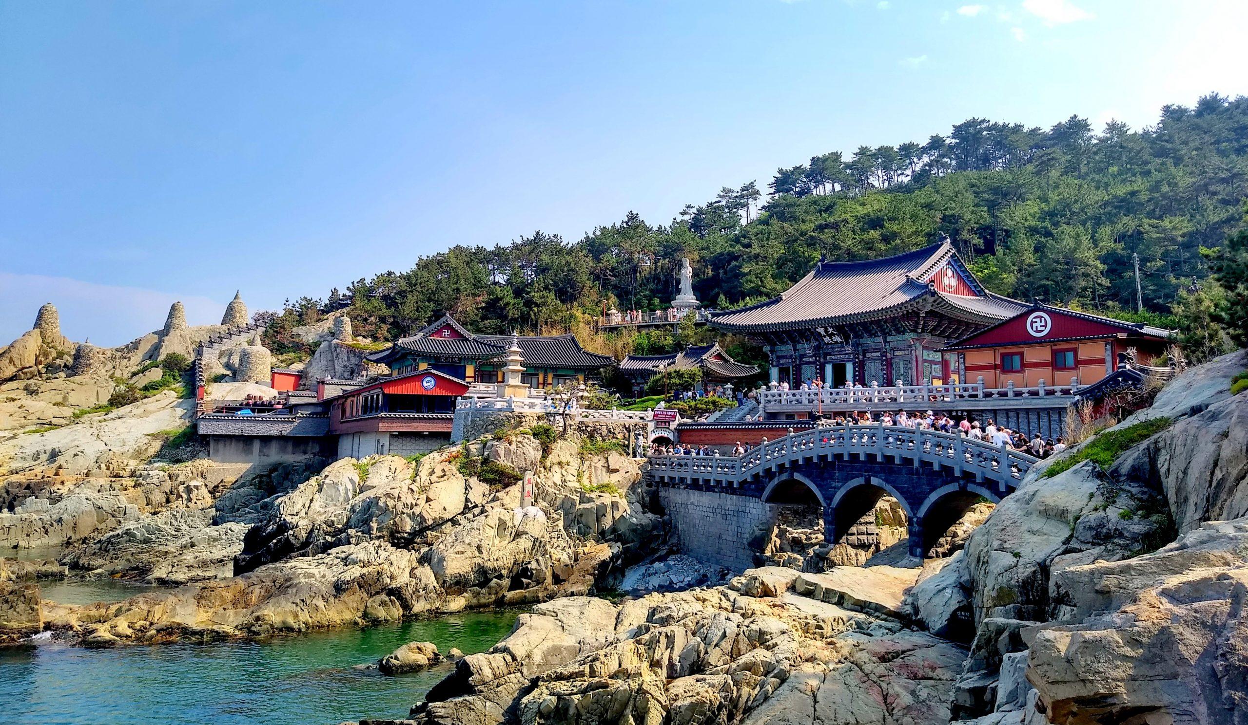 Haedong Yonggungsa Temple in Busan, South Korea