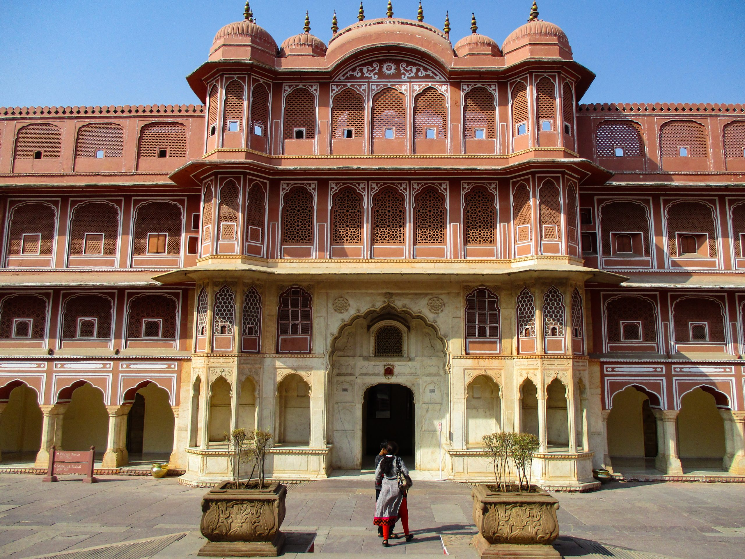 Hawa Mahal Palace in Jaipur, India