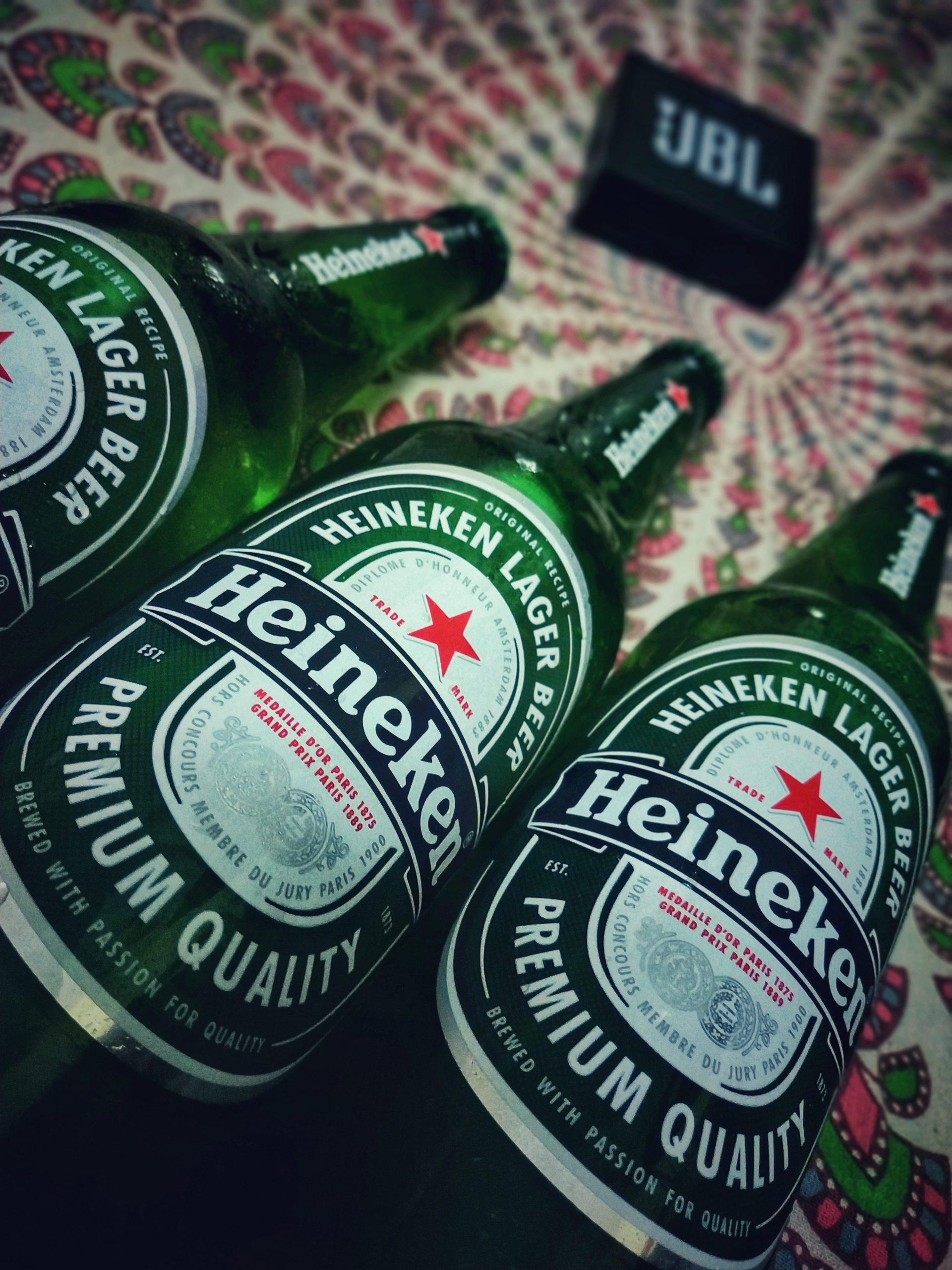 Bottle of Heineken