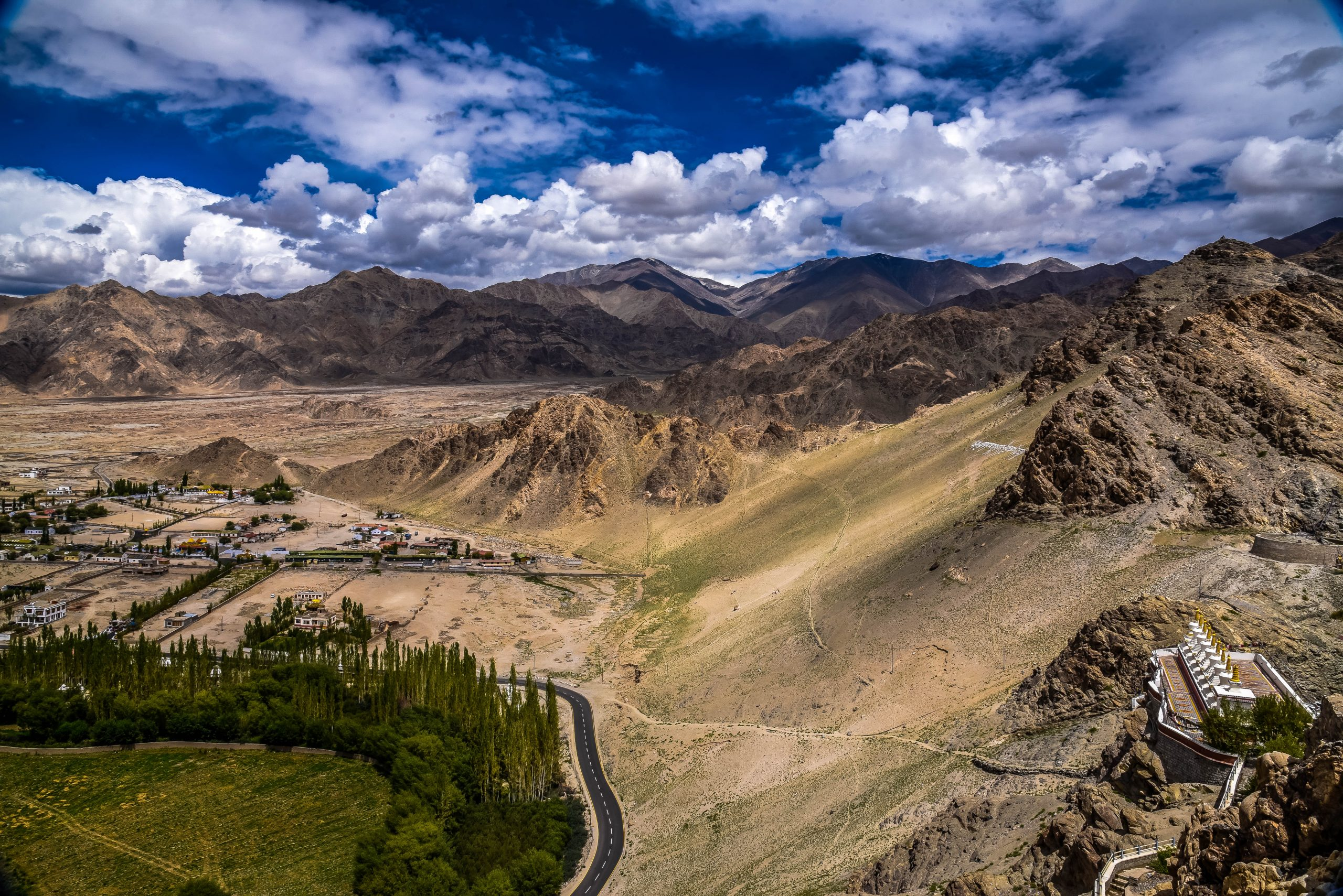 High hills of Ladakh