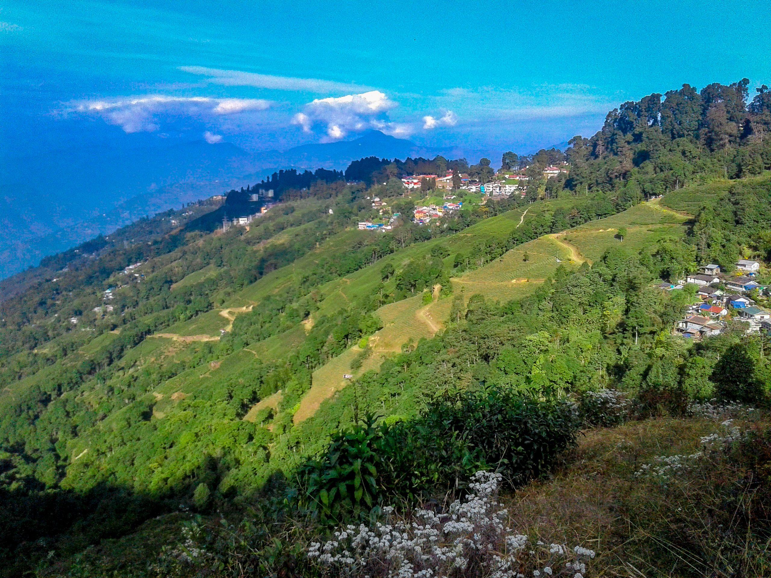 Beautiful Darjeeling hills.
