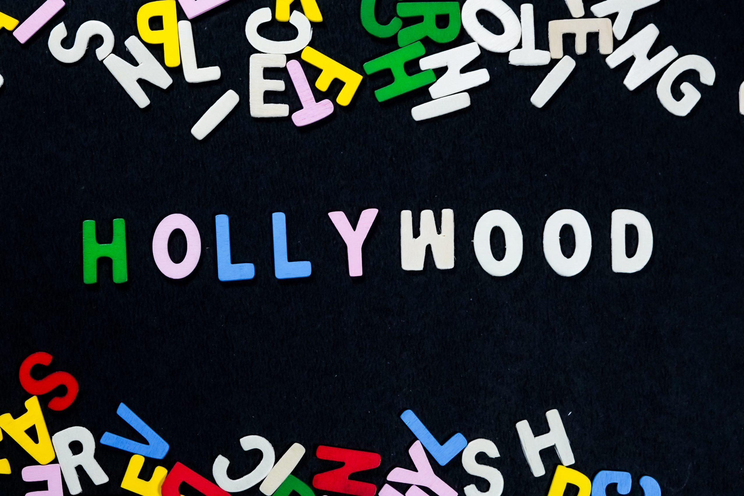 Hollywood words