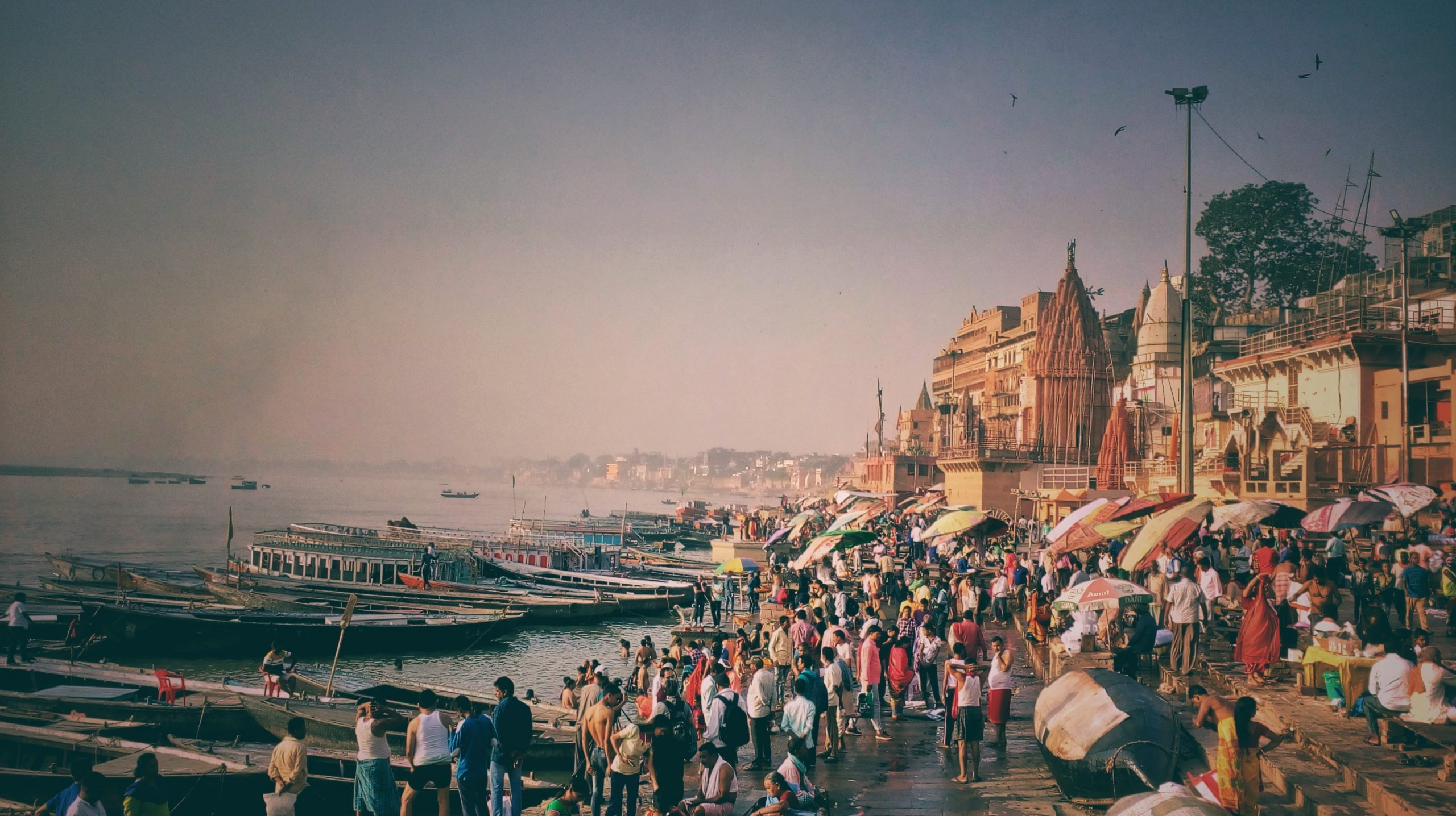 Holy place Varanasi