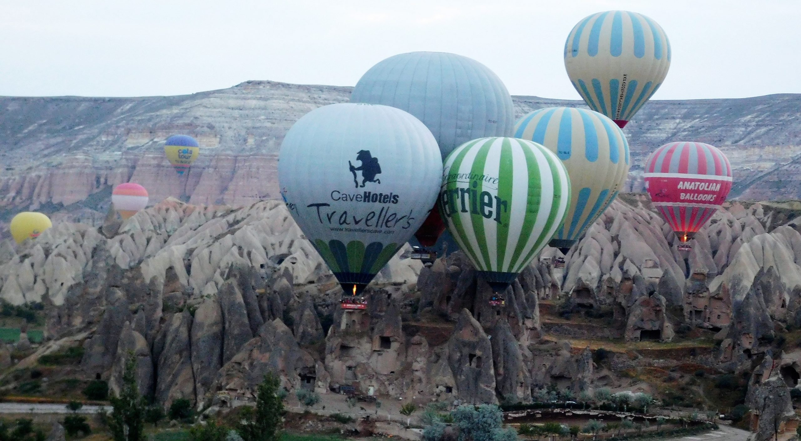 Hot Air Ballooning in Cappadocia Turkey