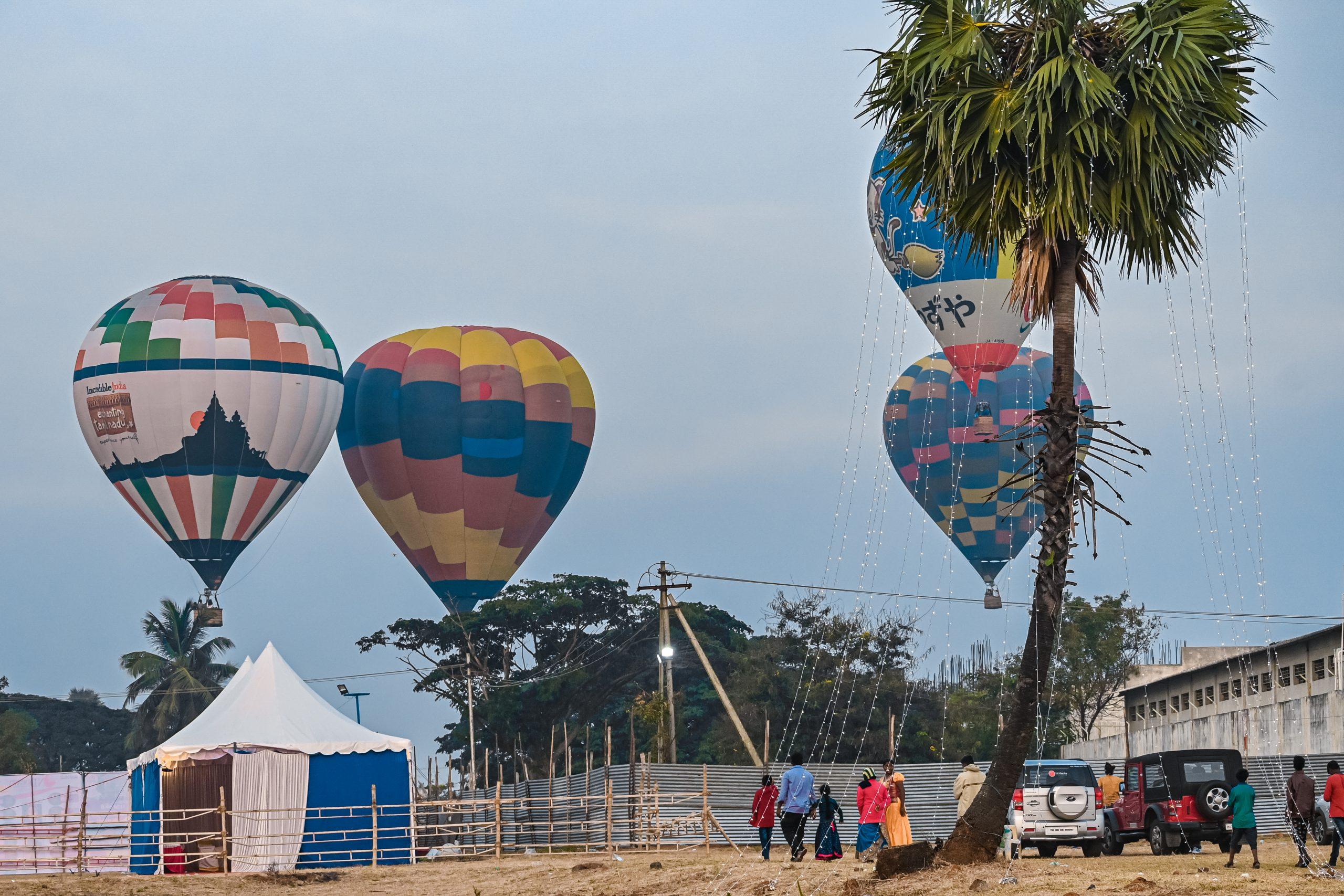 Adventure on hot air balloon