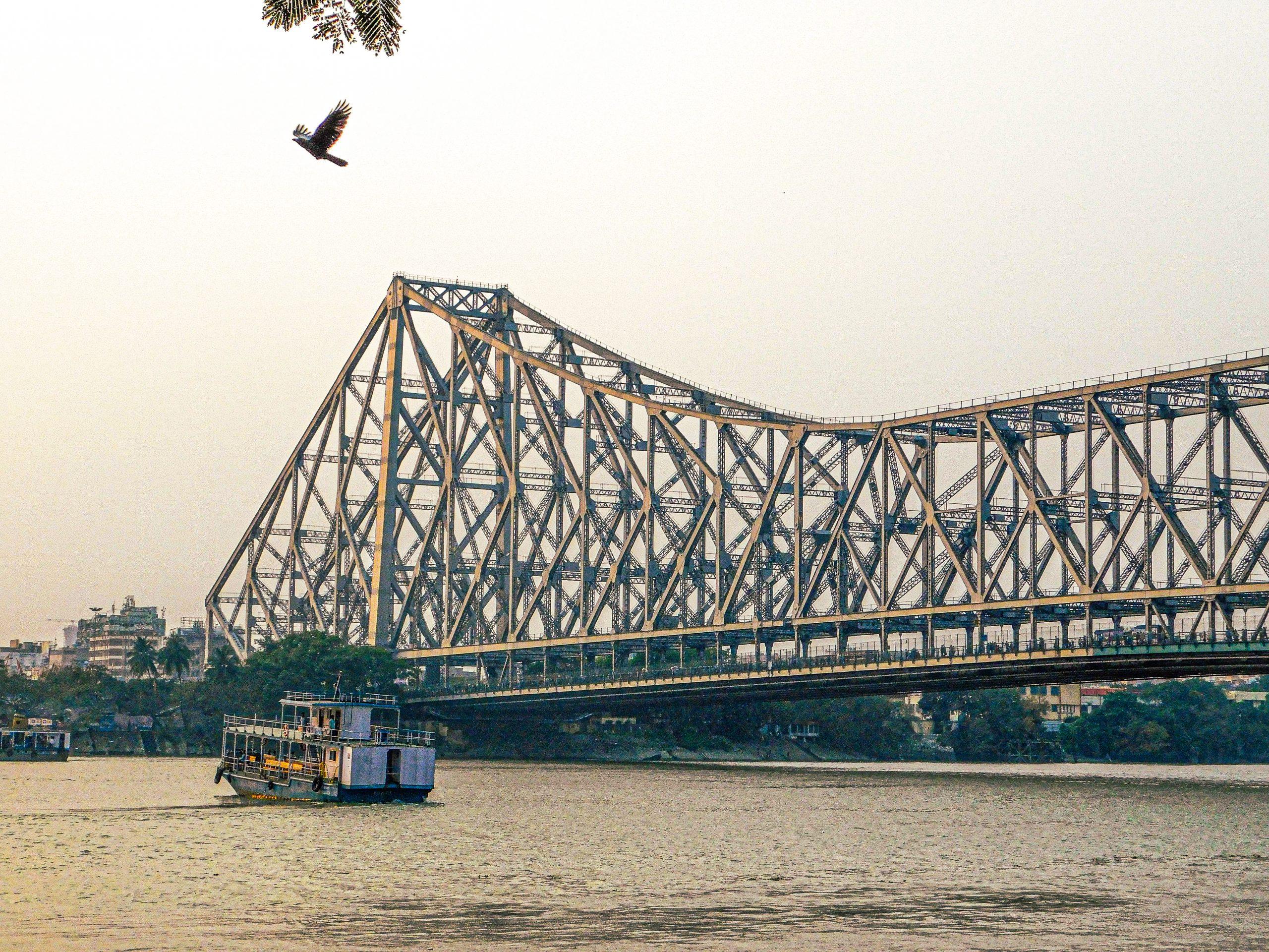 Howrah bridge of Kolkata