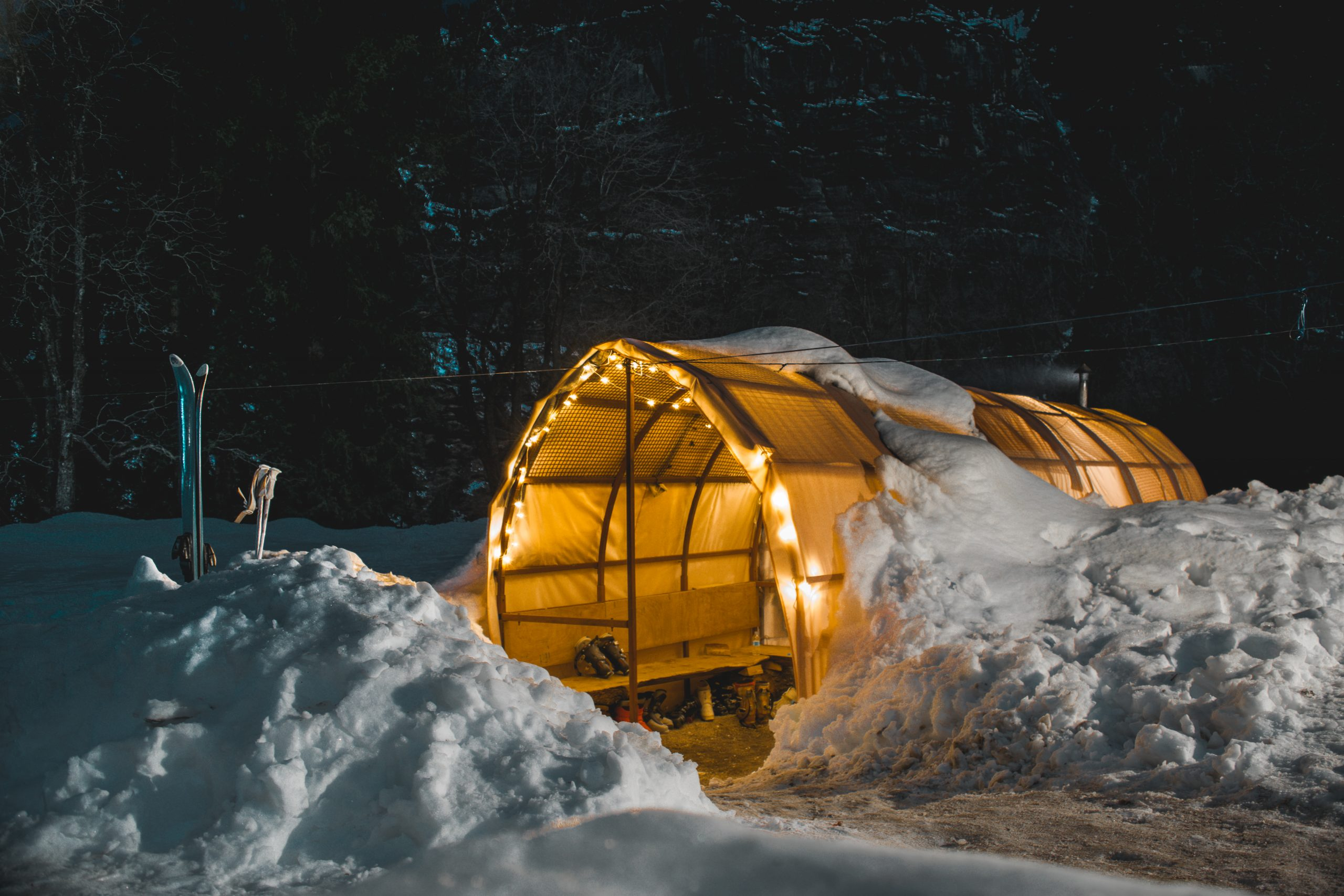 Igloo stay in Sethan valley Manali