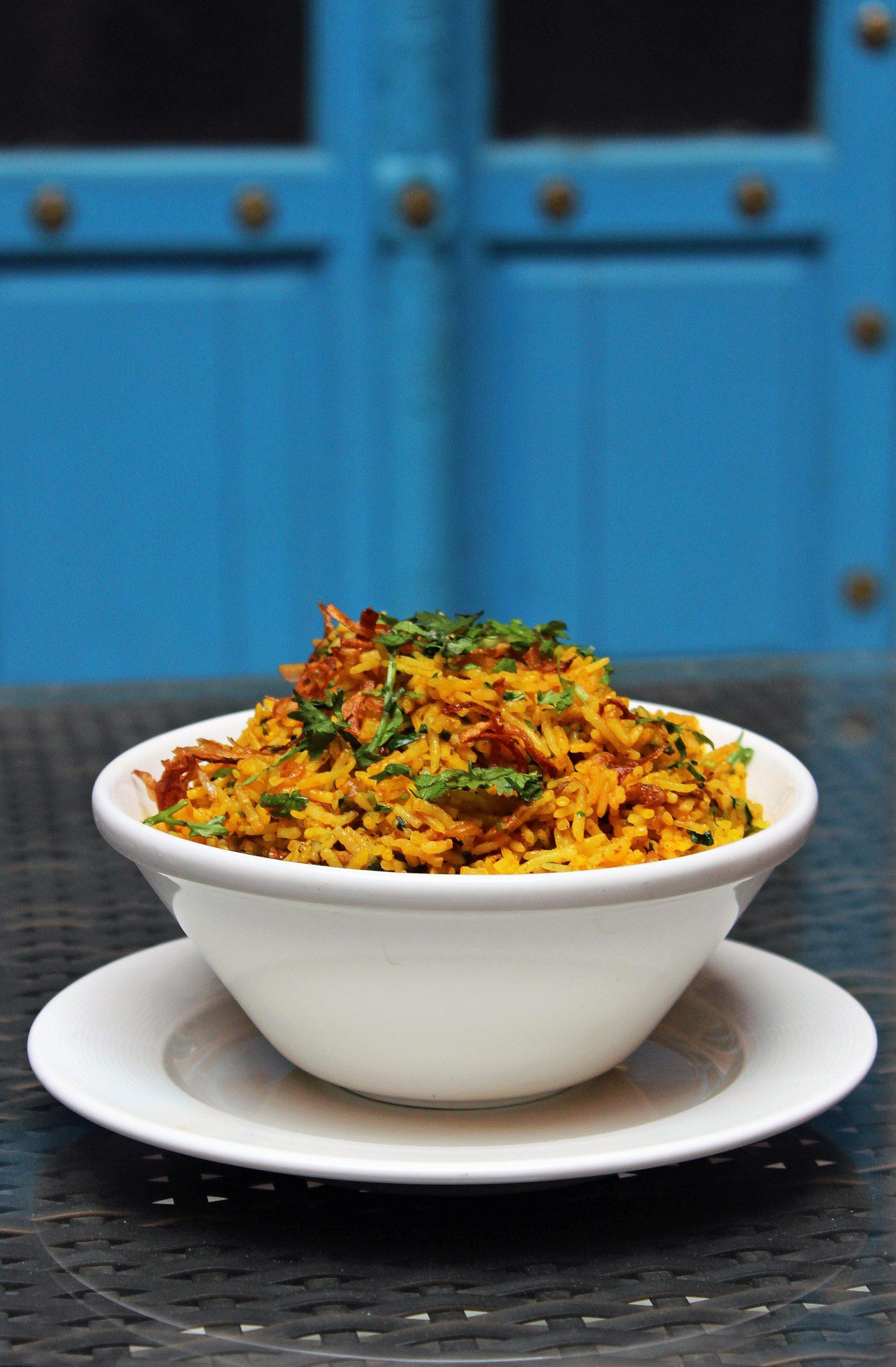 Indian Dish Biryani