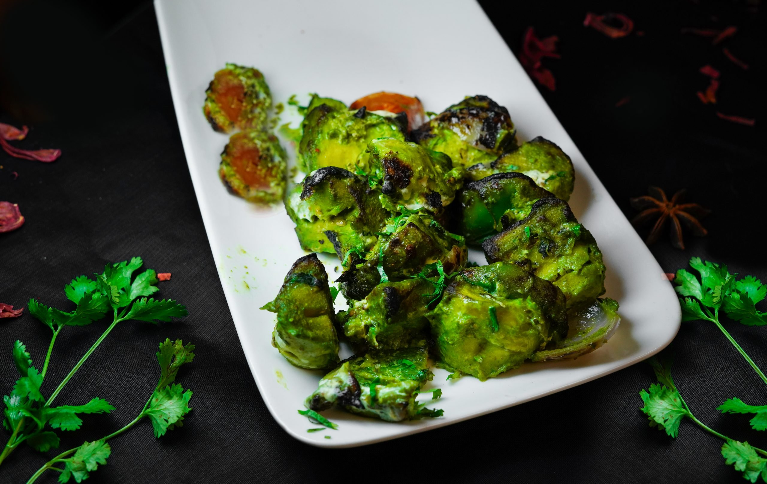 Indian Green Food