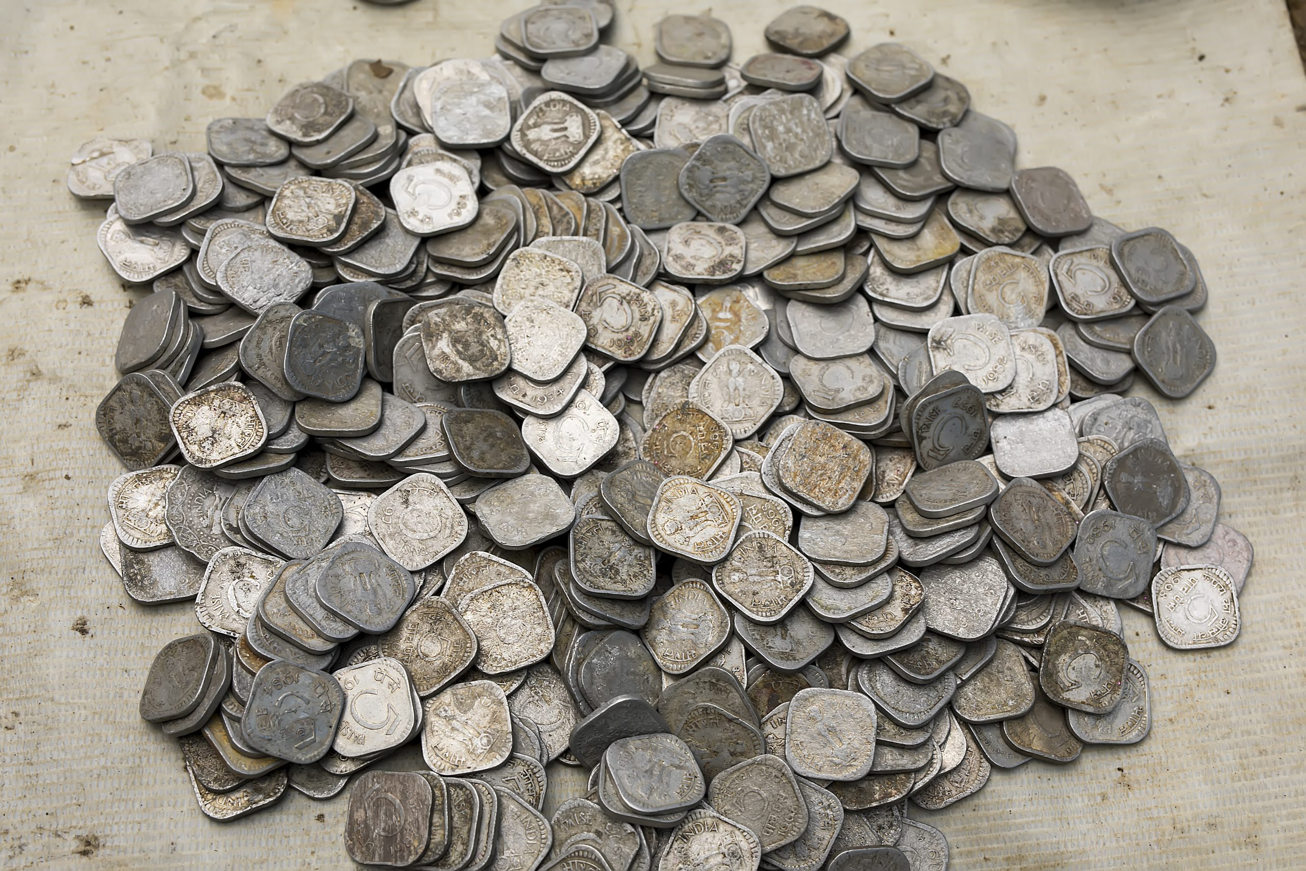 Indian Old Coin, Currency