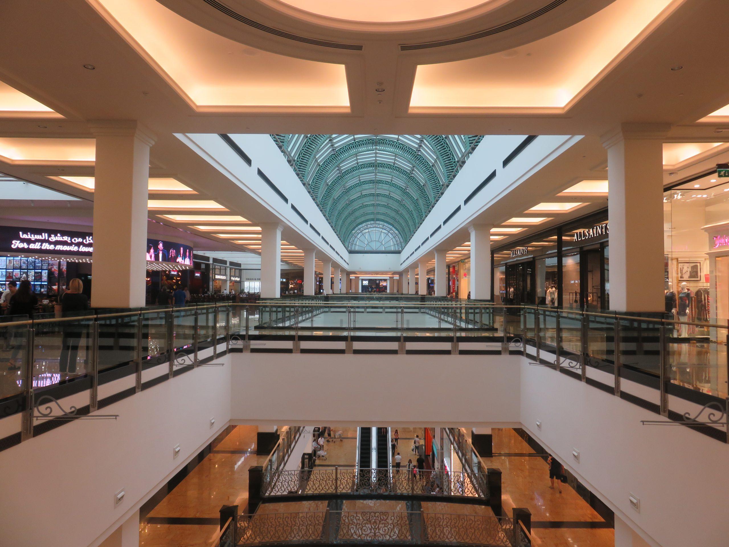 Interior Design of a Mall