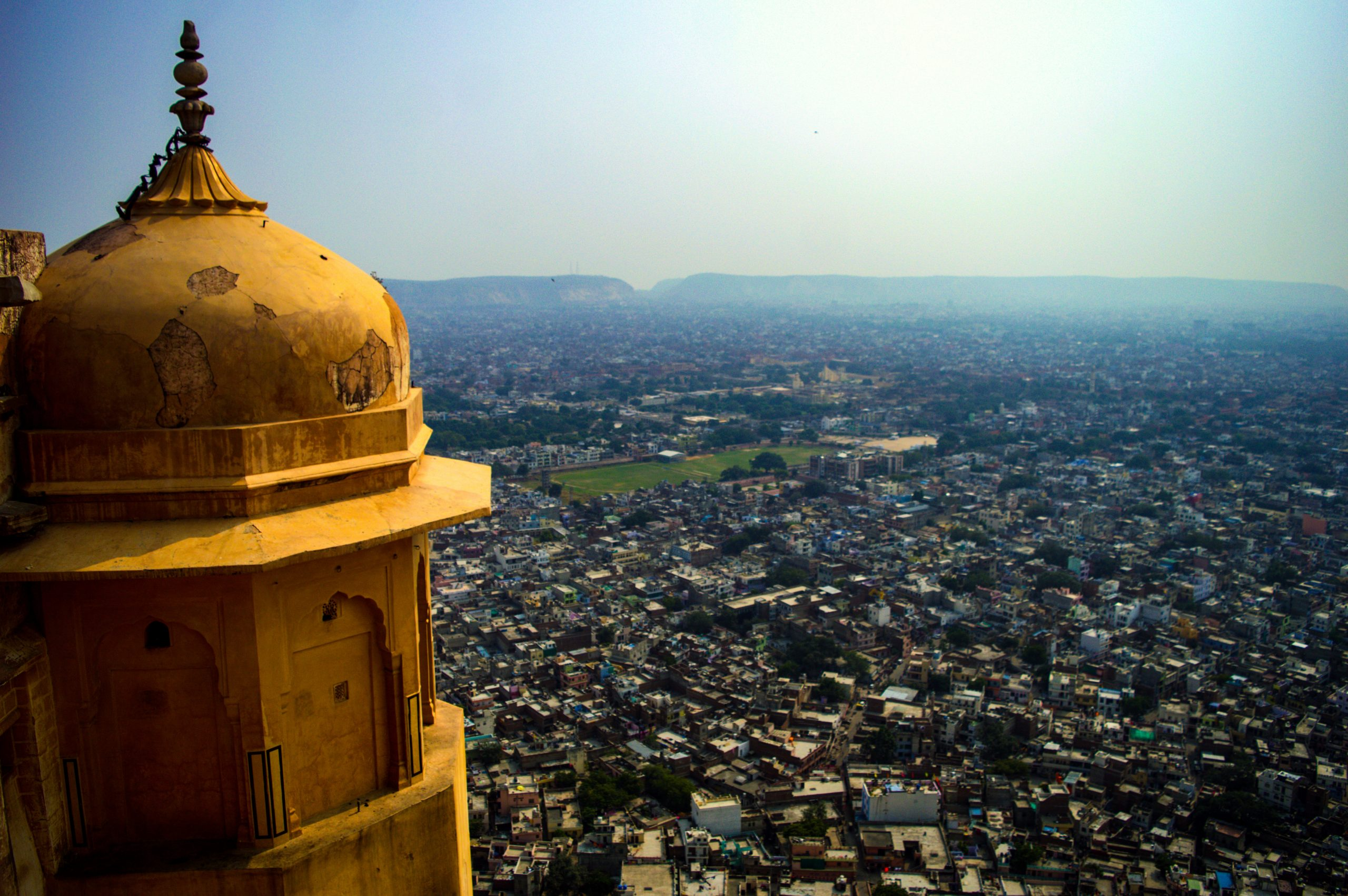 View from Nahargarh fort in Rajasthan