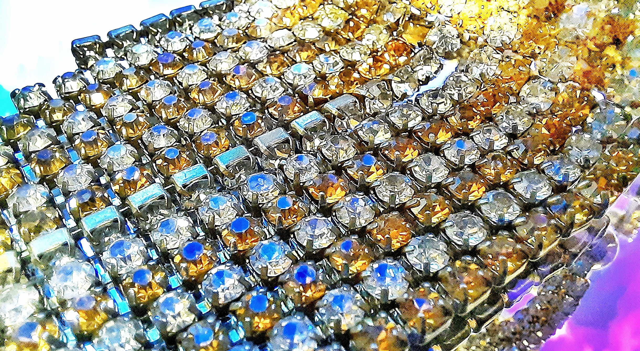 Jewellery in close-up