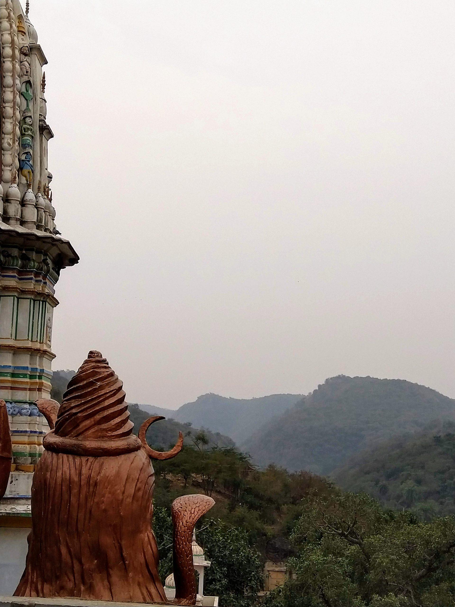 Temple Mountain view