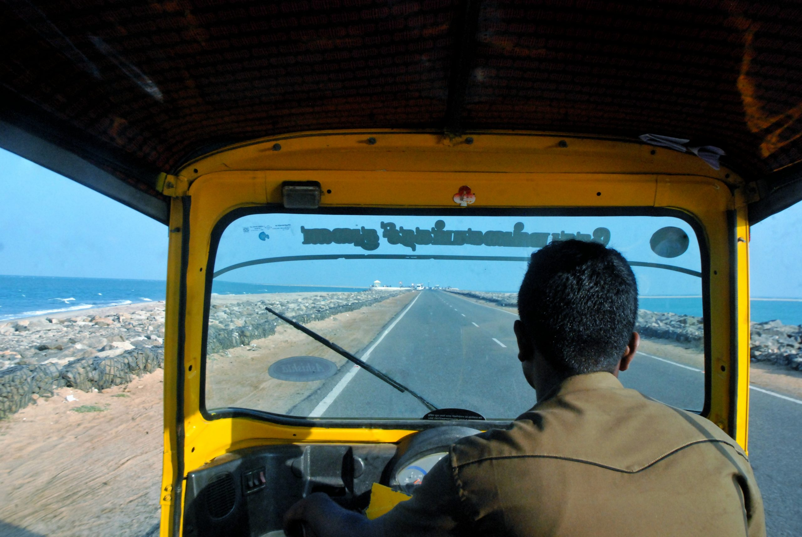 A road to the end of India - Dhanuskodi.