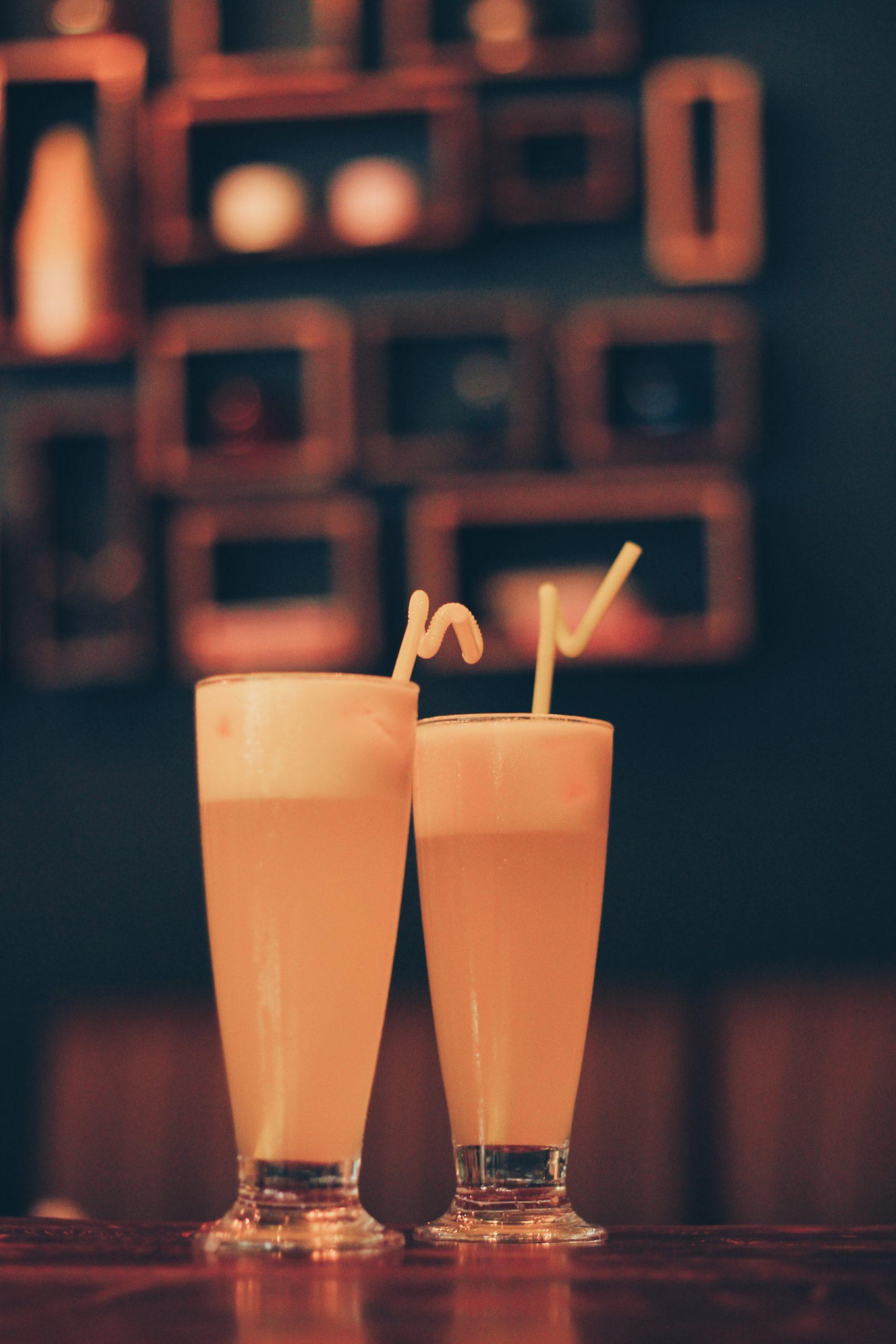 juice served at café