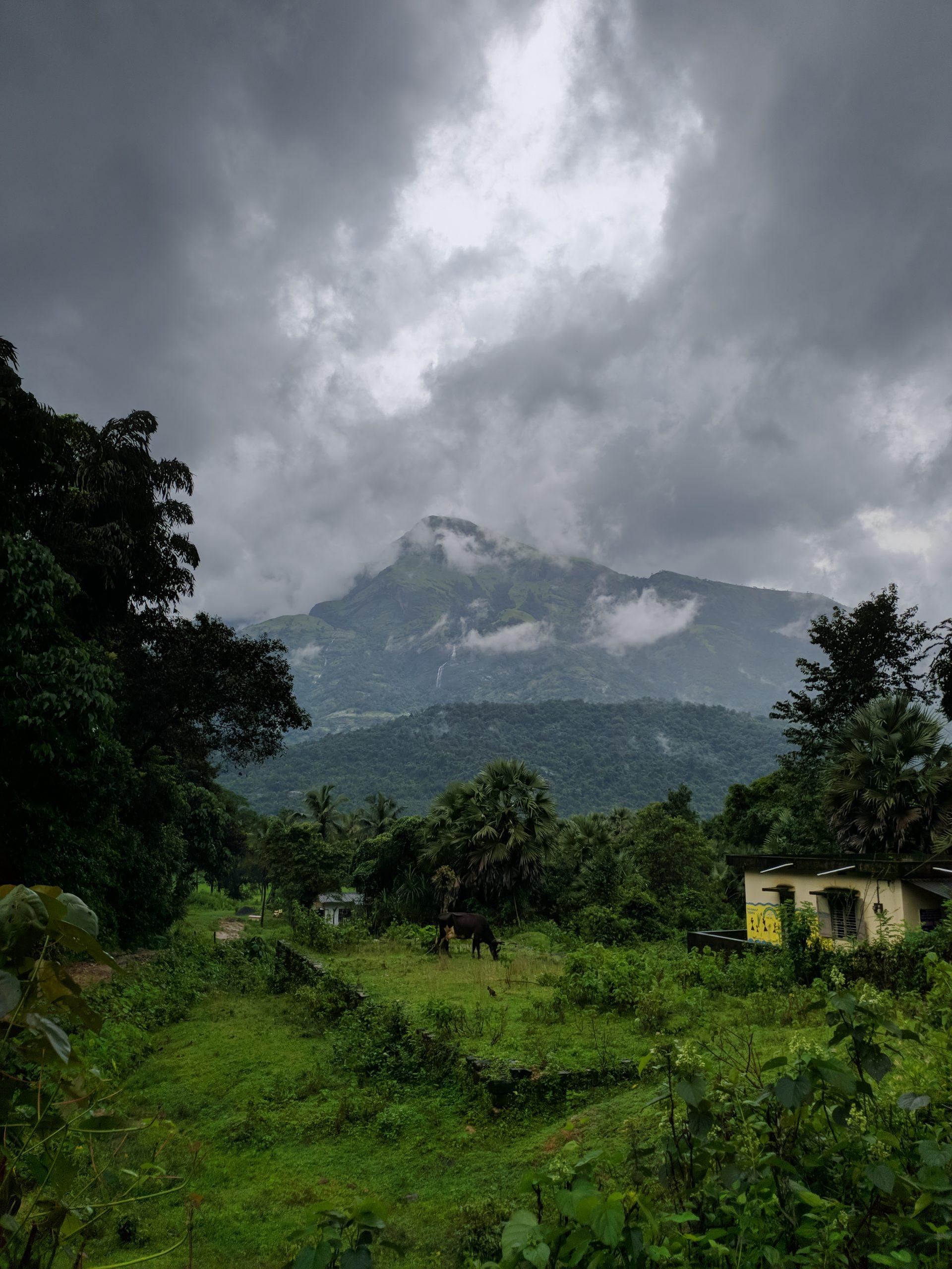 The beauty of Kudremukha peak.