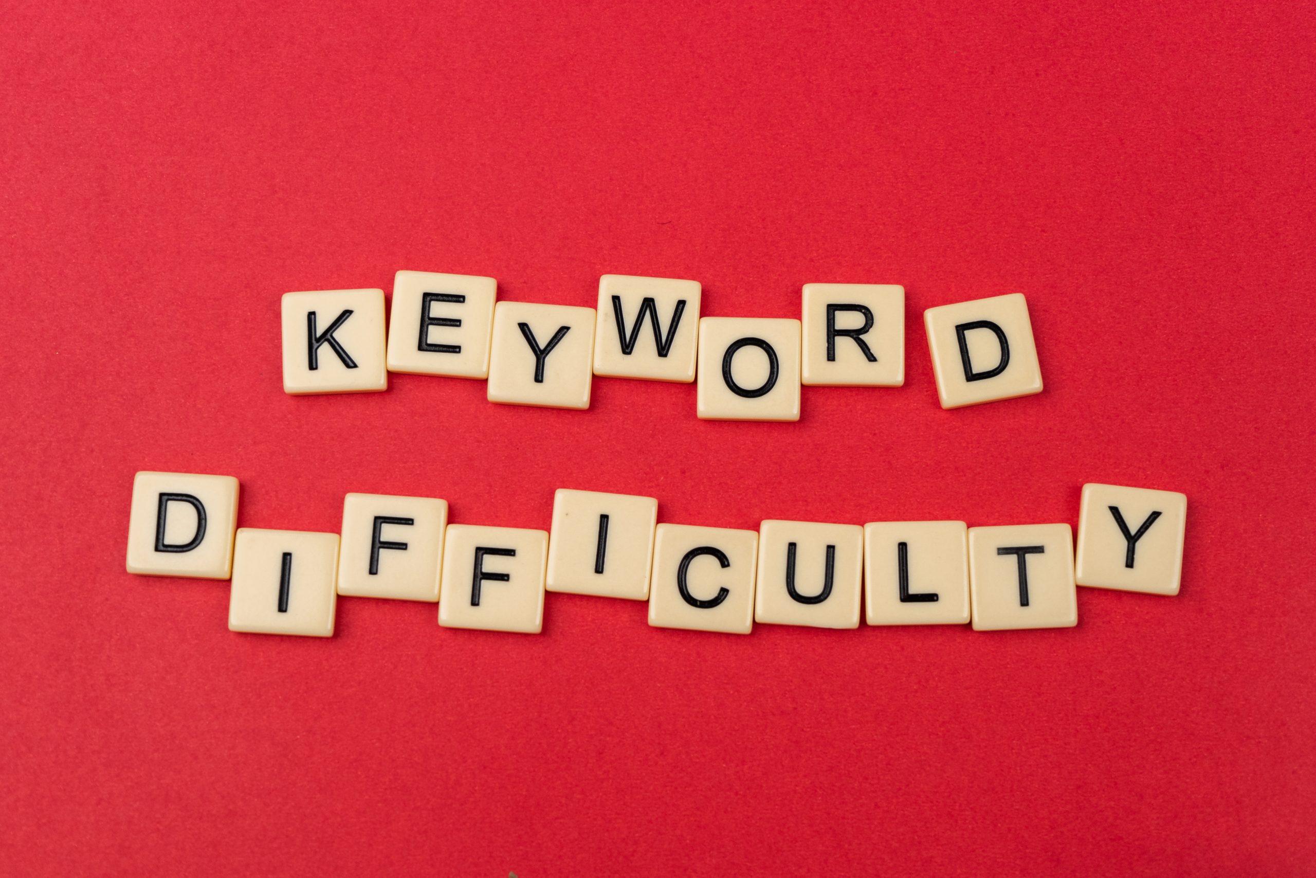 Keyword difficulty seo