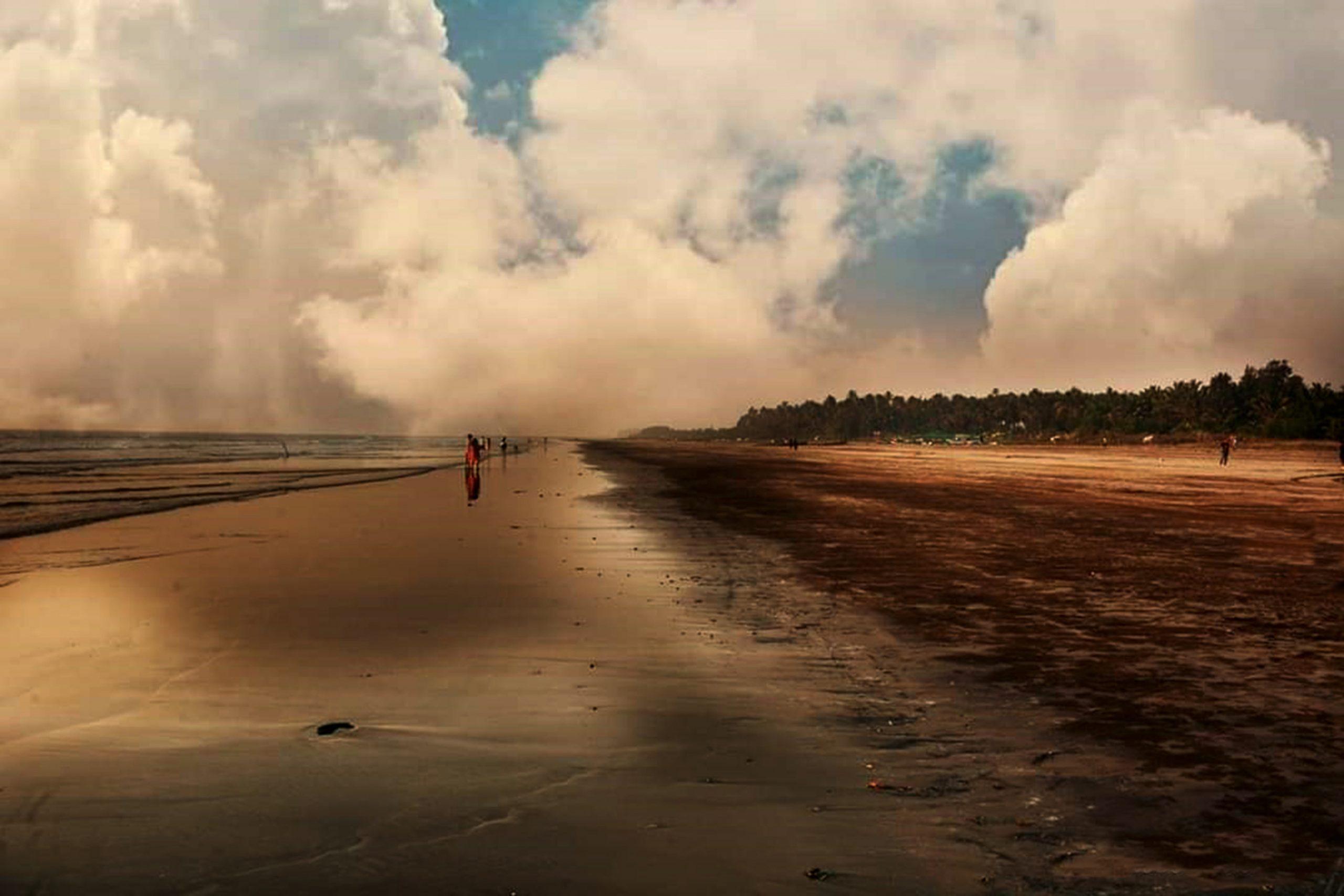 Khim Beach in Alibag