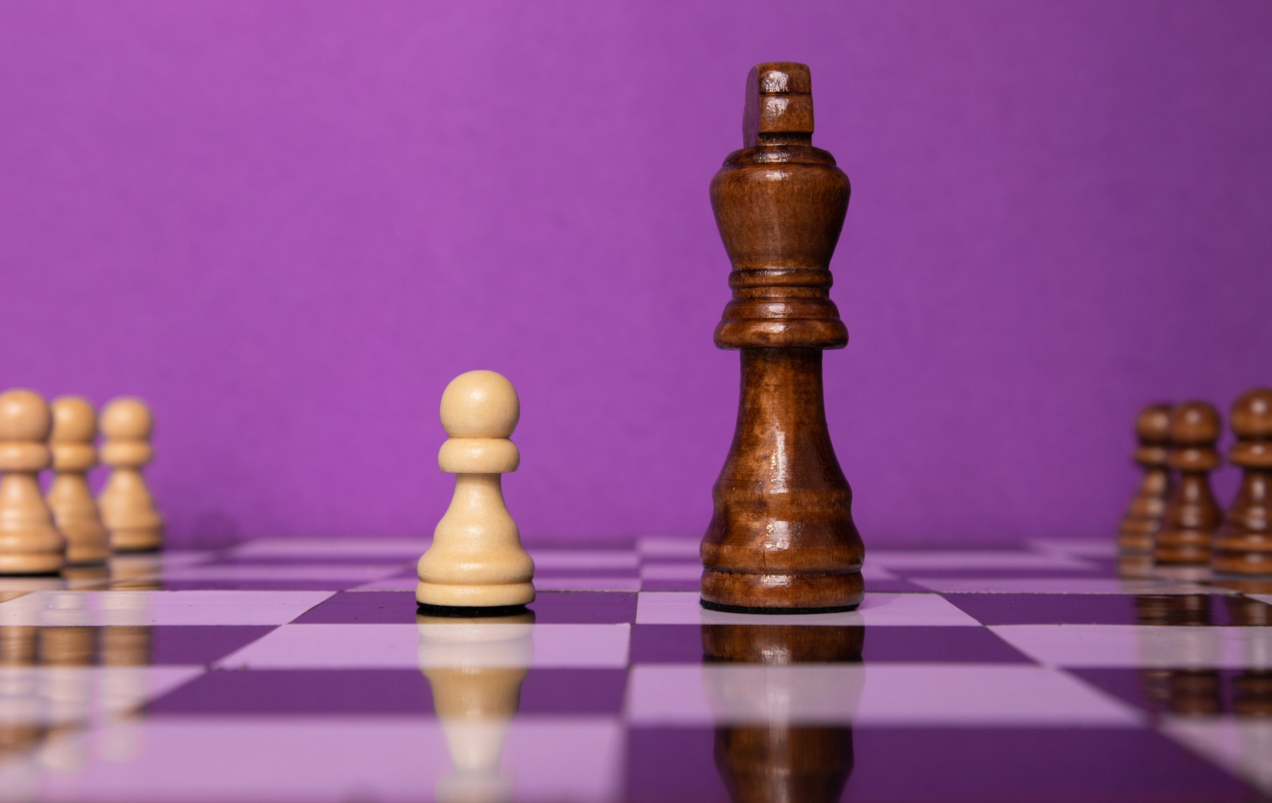 King and pawn opposite