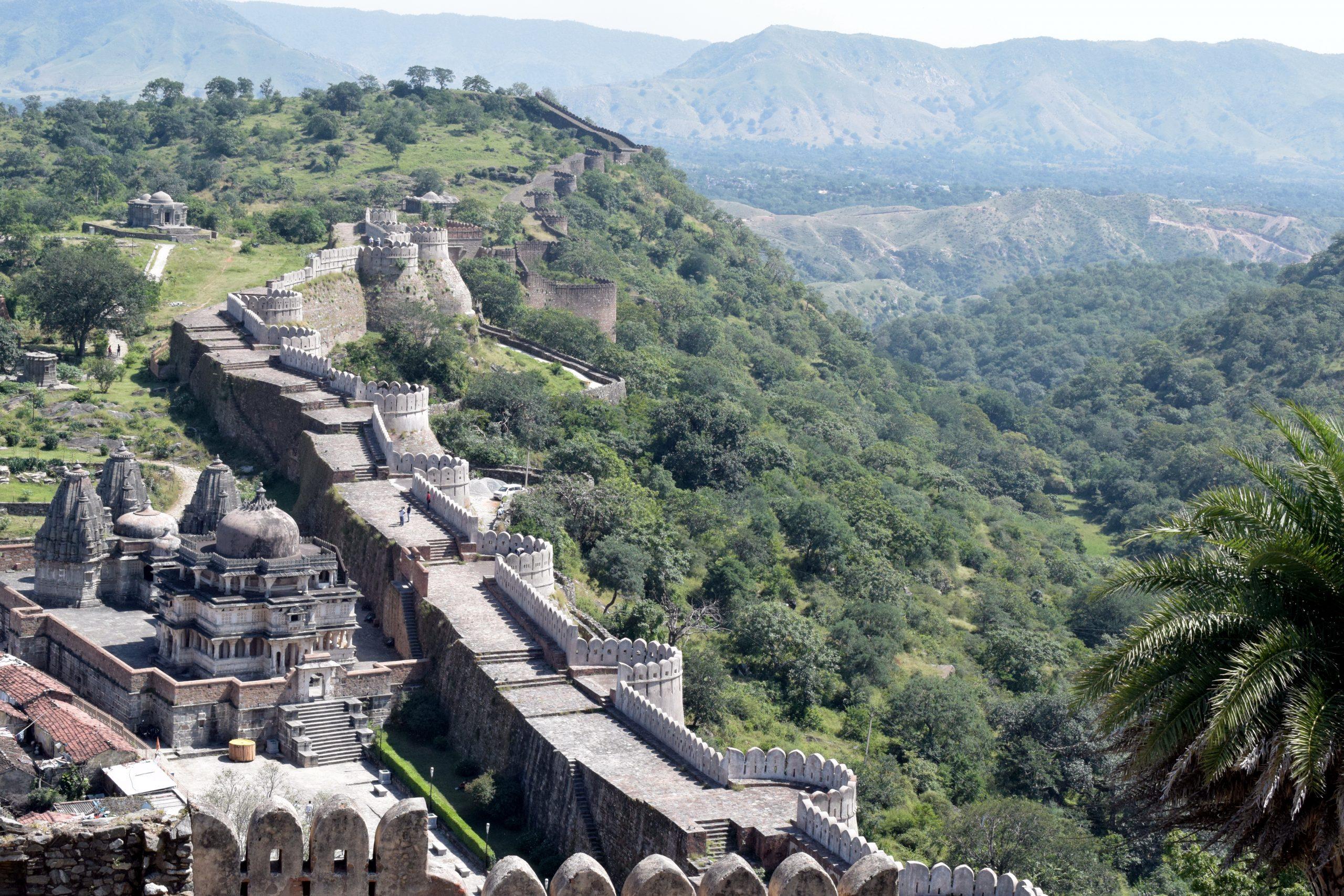 Kumbhalgar Fort of Aravalli Hills
