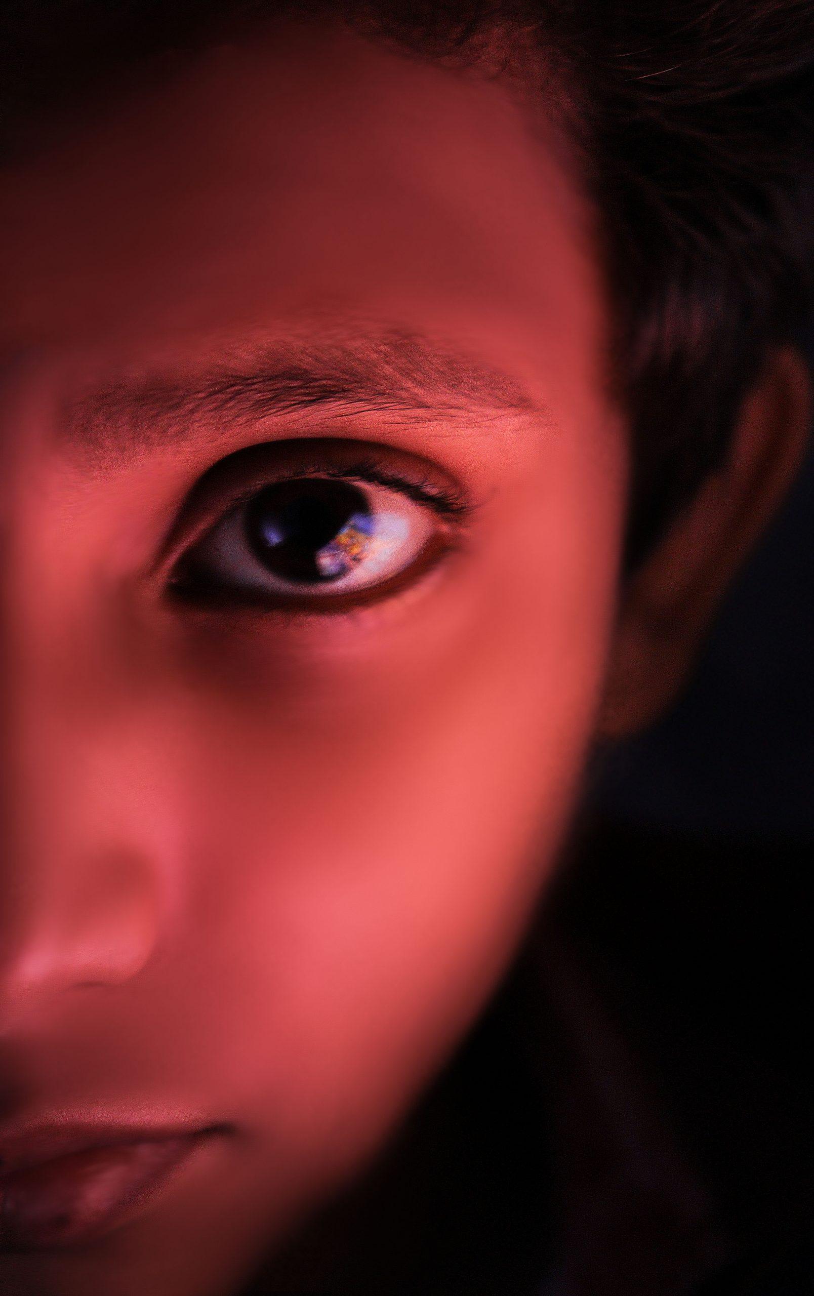 Left Profile of a child