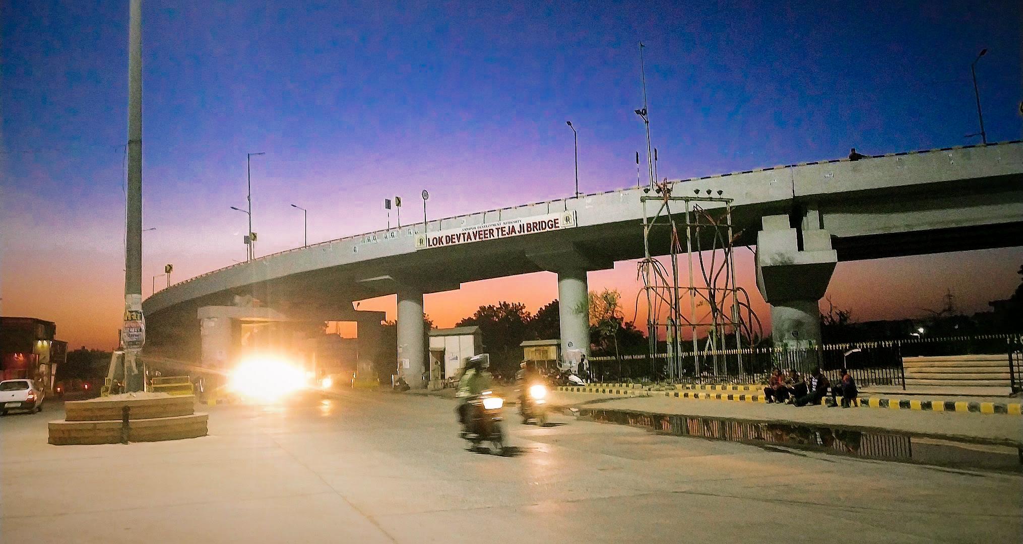 Lok Devta Veer Teja Bridge in Jodhpur