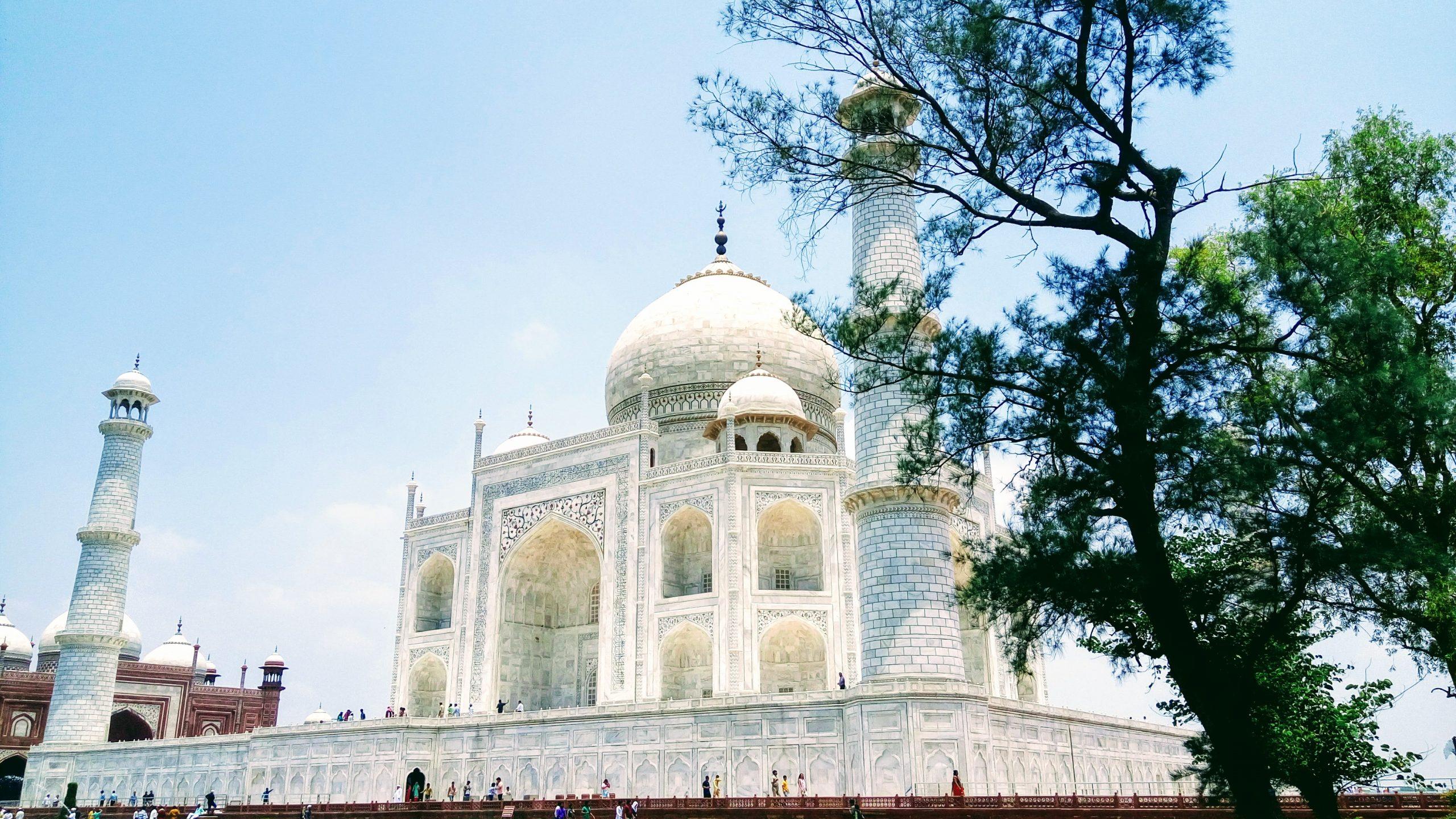 Taj Mahal - Seventh wonder of the world.