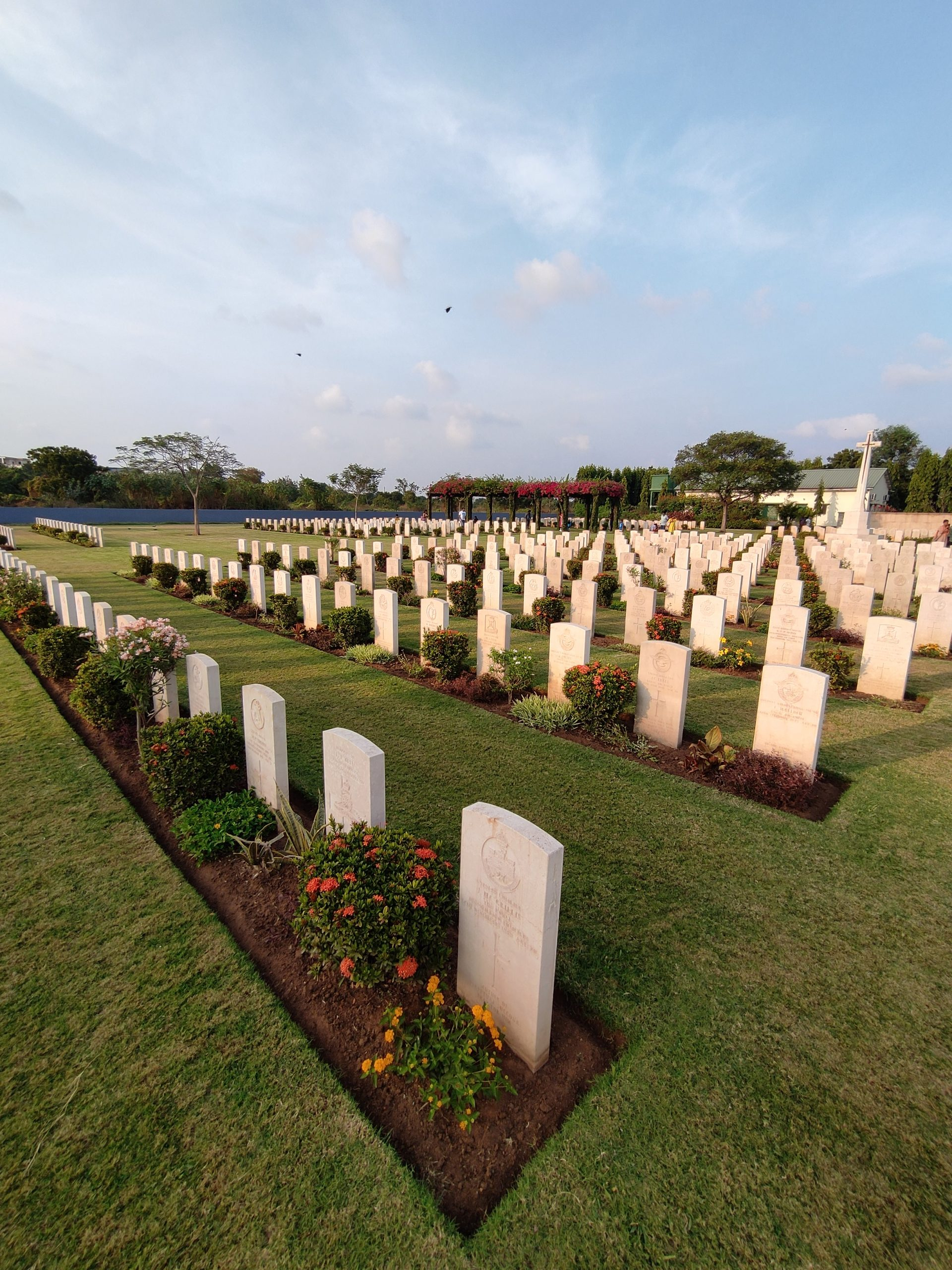 Madras War Memorial in Chennai Landscape