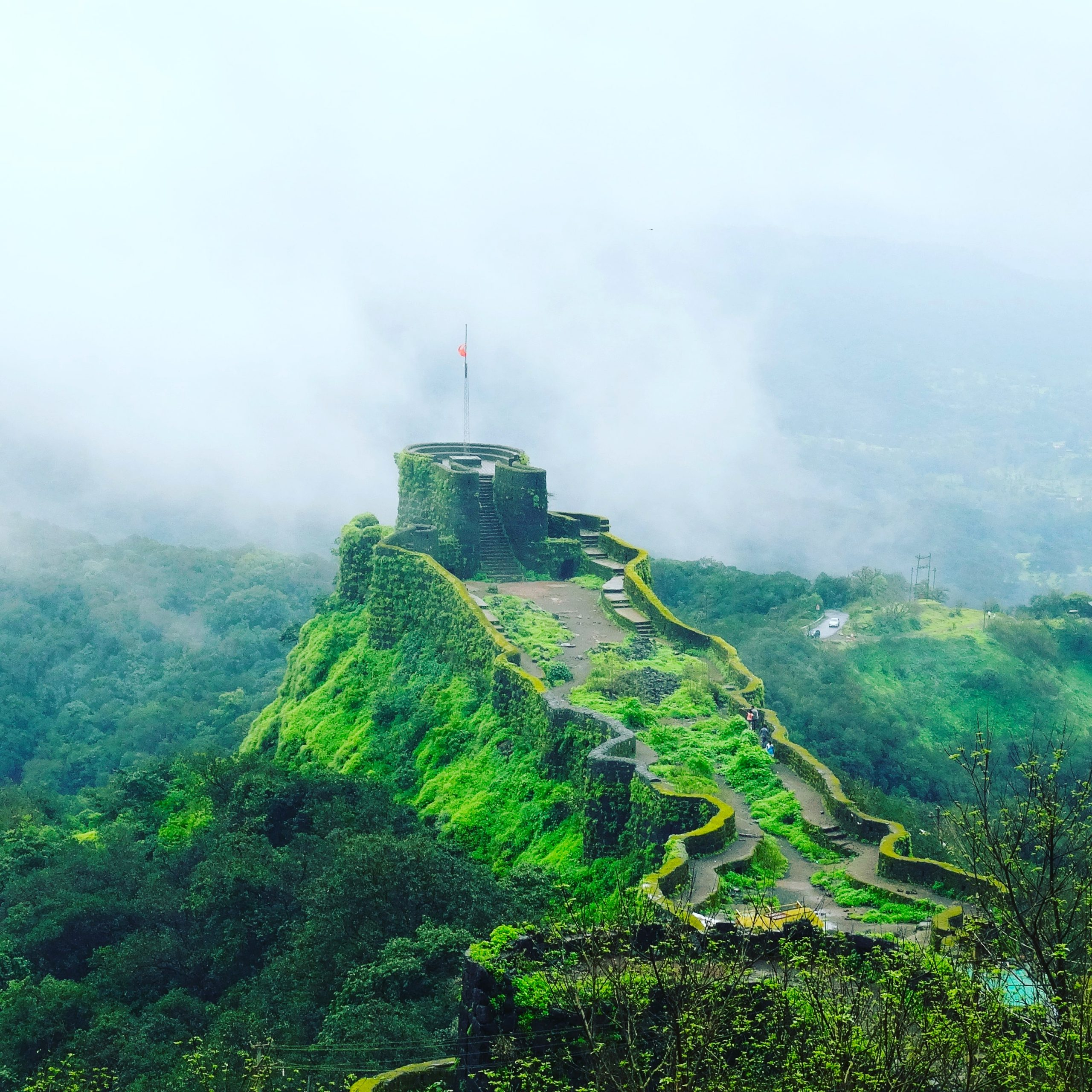 Misty Pratapgad Fort