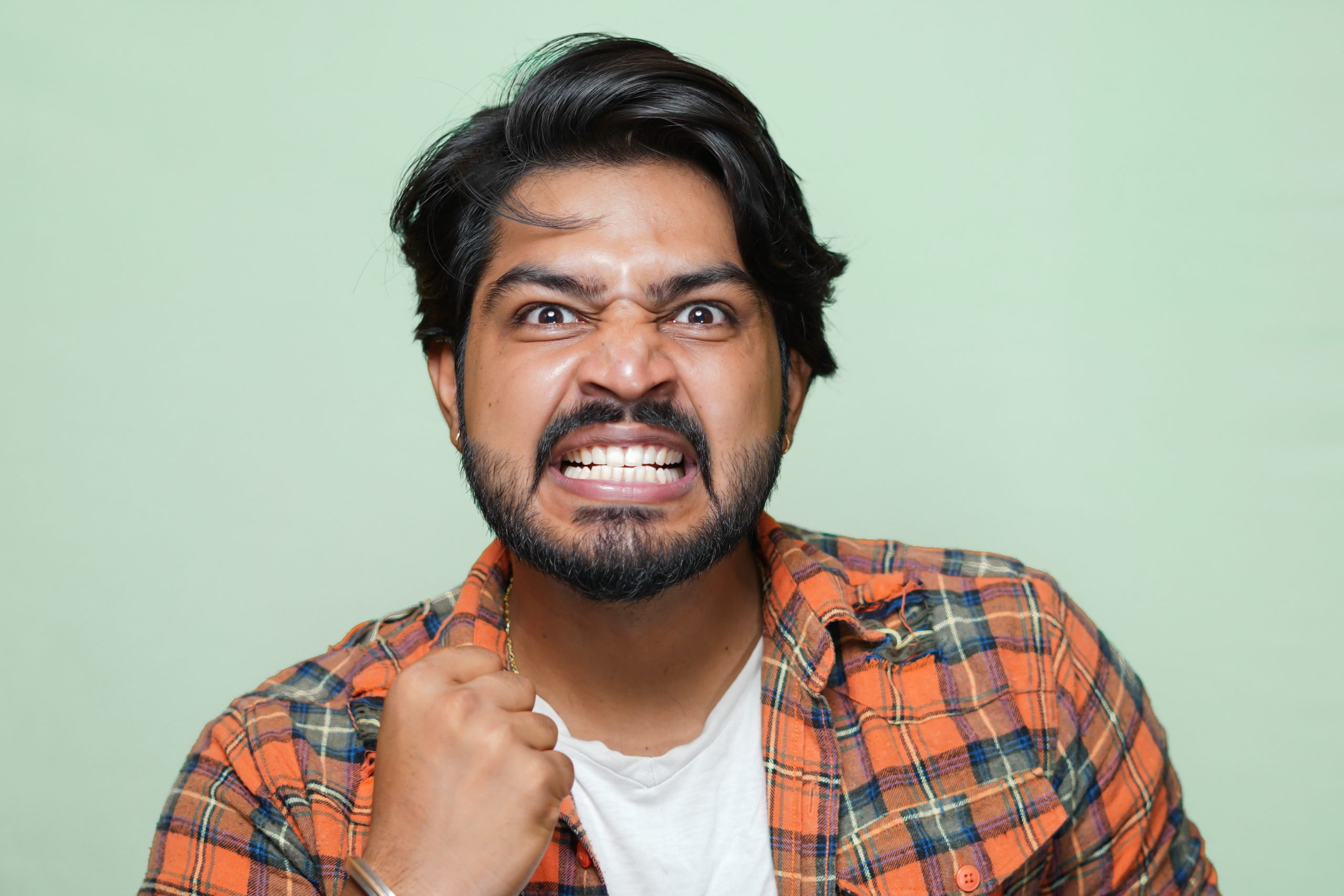 Male anger expression