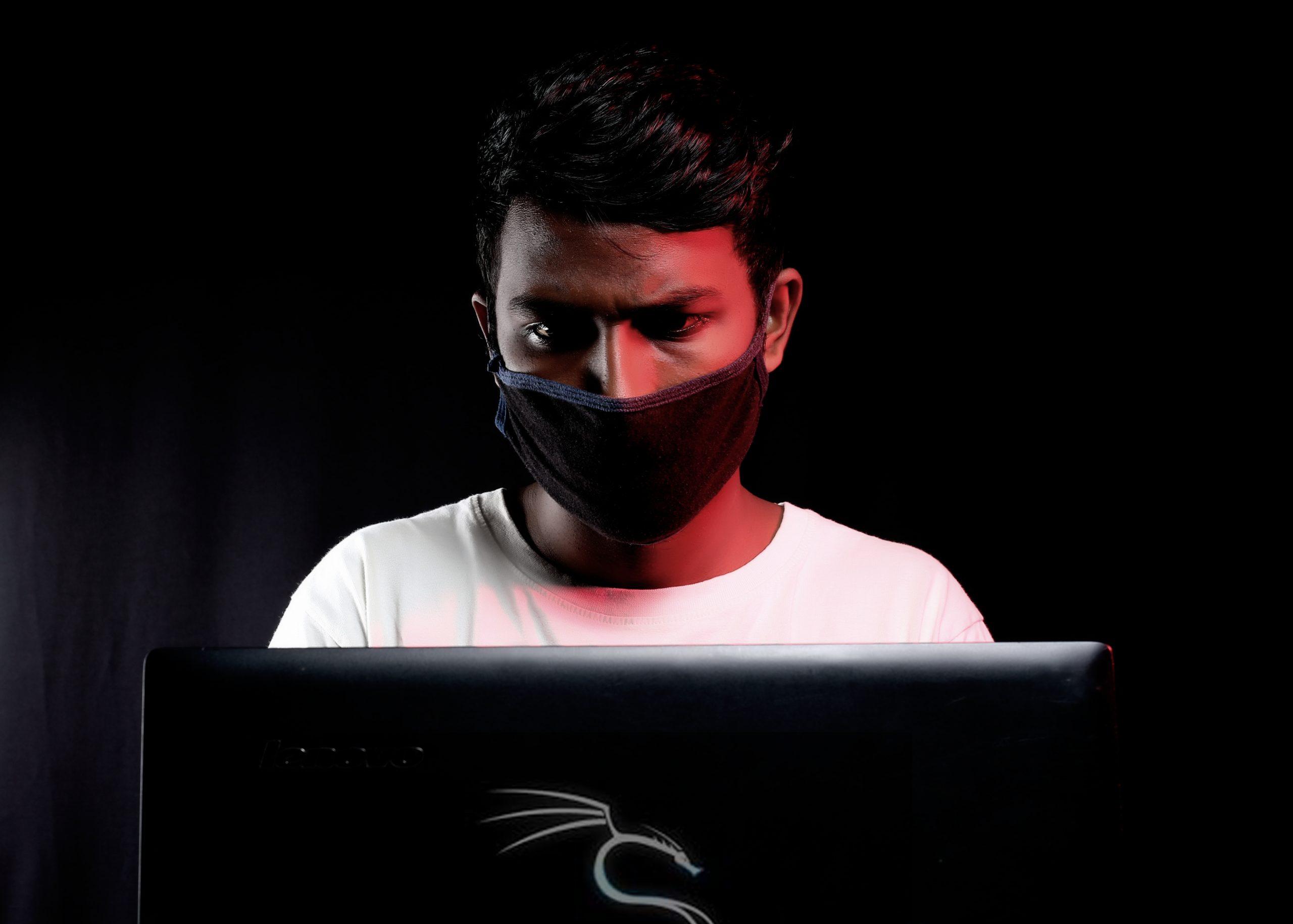 Man in a Laptop