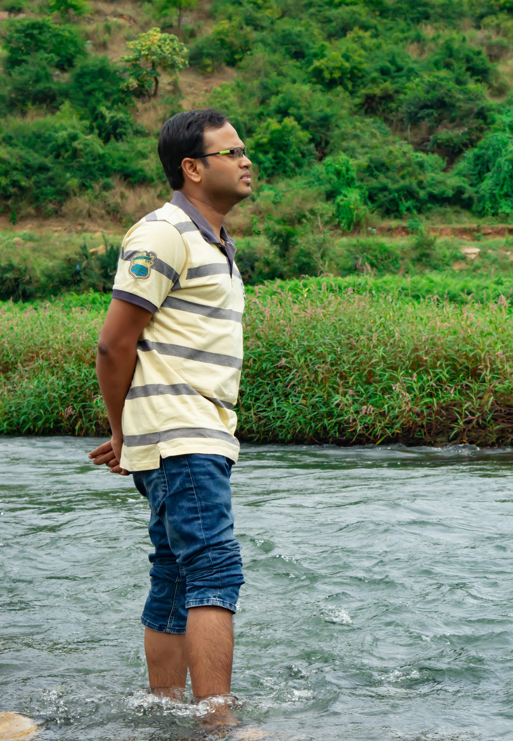 Man in the River